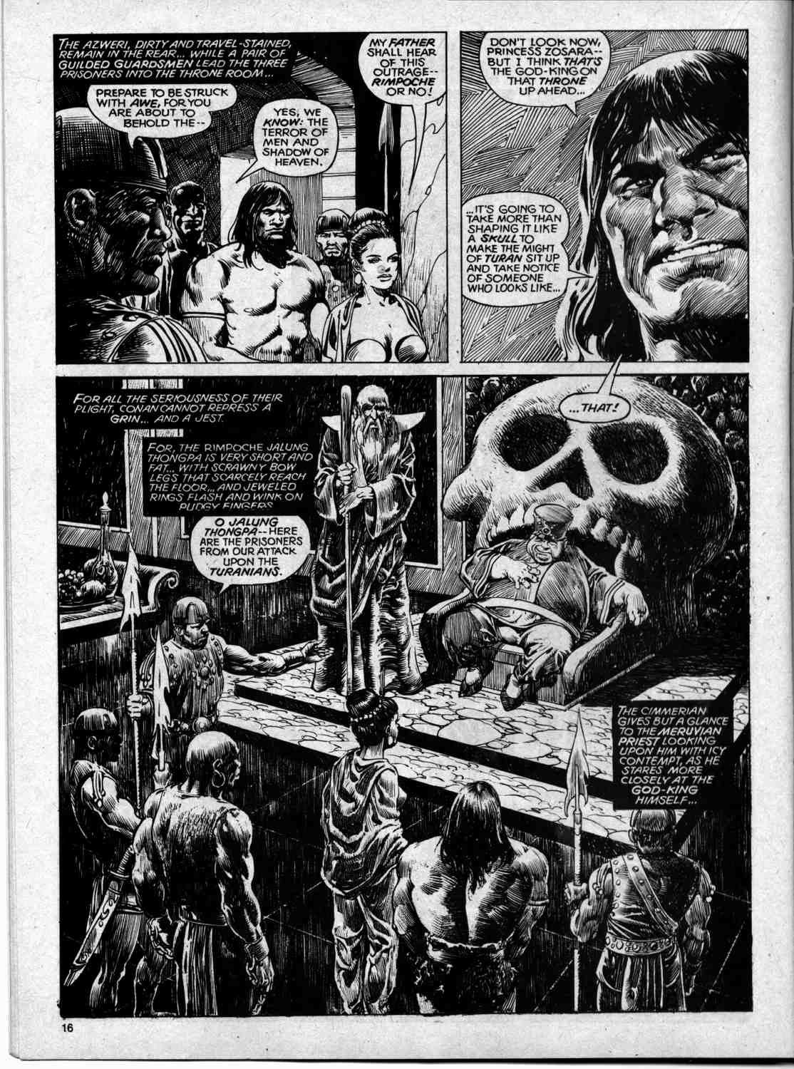 The Savage Sword Of Conan Issue #59 #60 - English 16