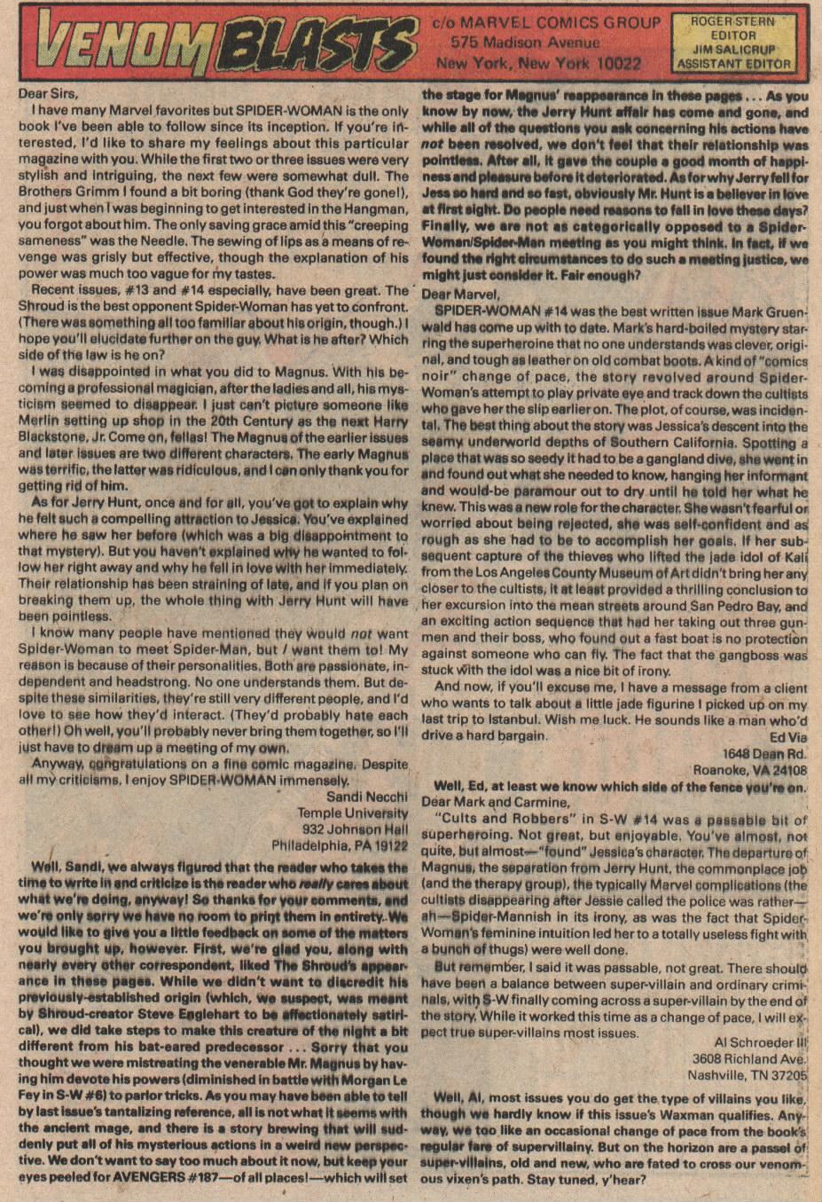Spider-Woman (1978) #18 #33 - English 13