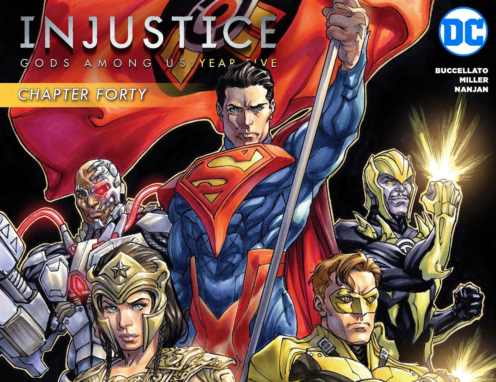 Injustice: Gods Among Us: Year Five Issue #40 #41 - English 1