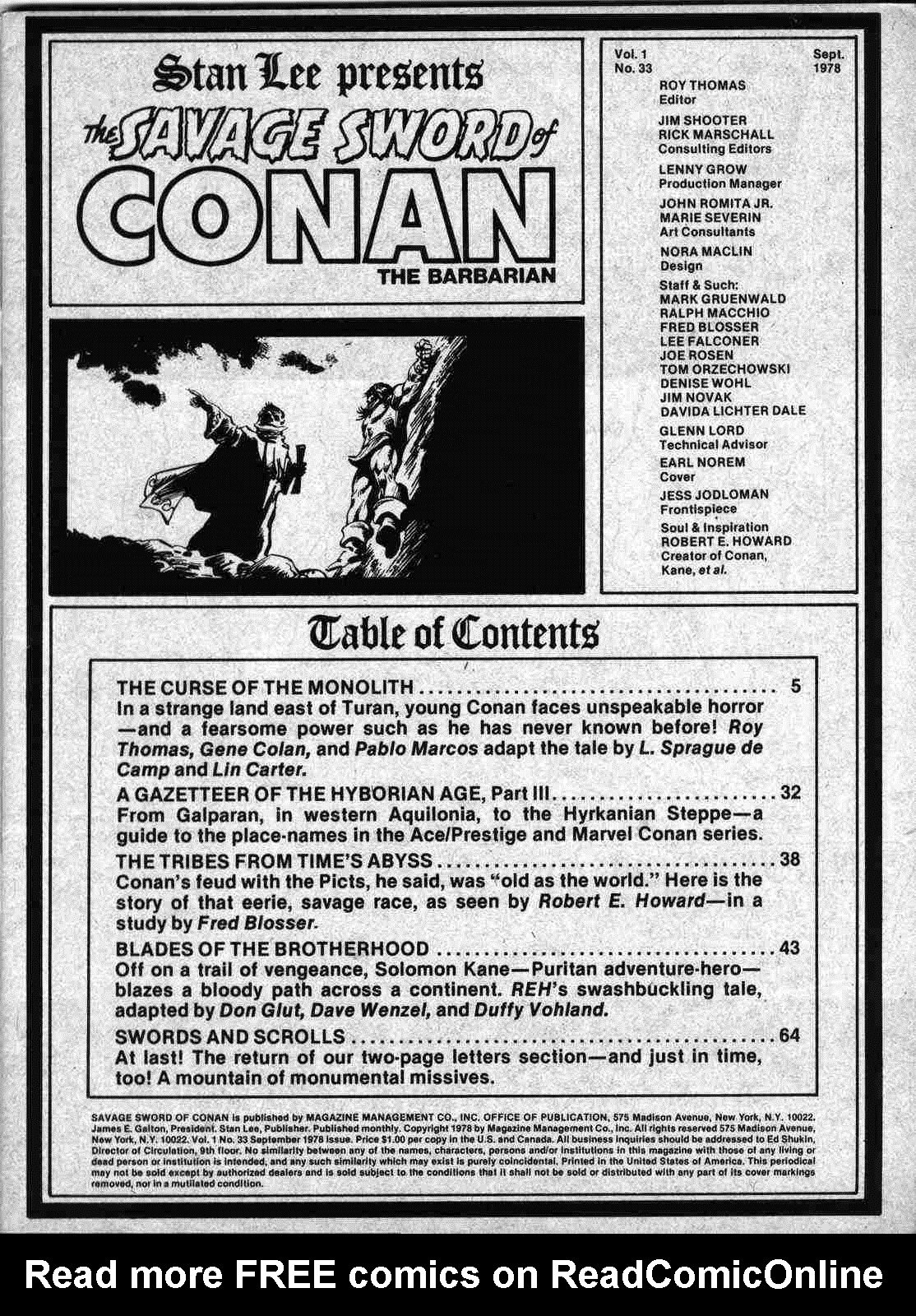 The Savage Sword Of Conan Issue #33 #34 - English 2