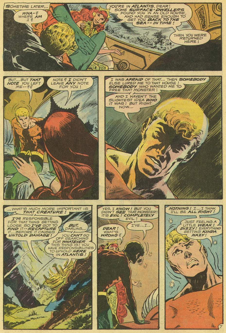 Aquaman (1962) Issue #54 #54 - English 10