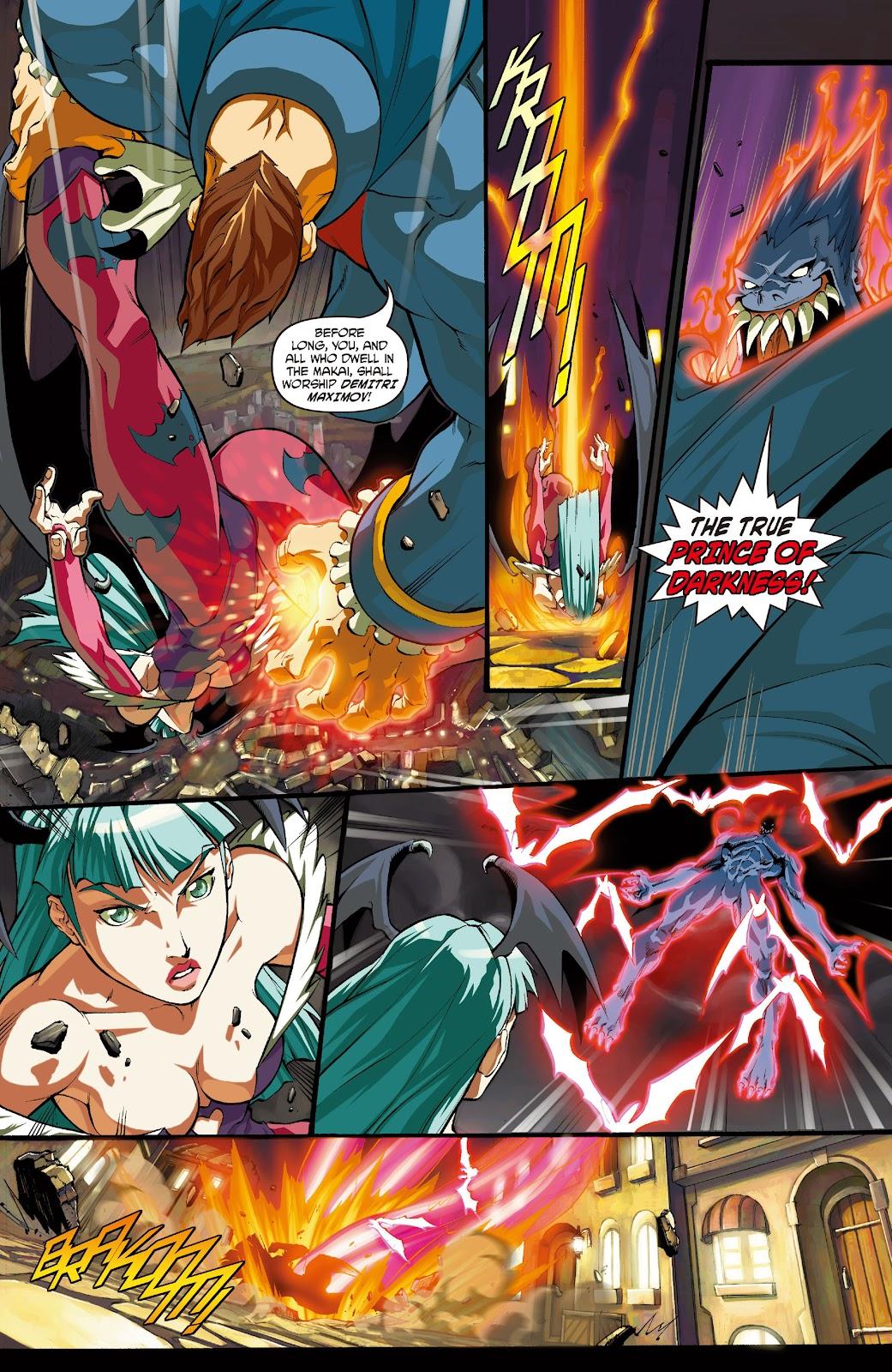 Darkstalkers Issue #0 #1 - English 5