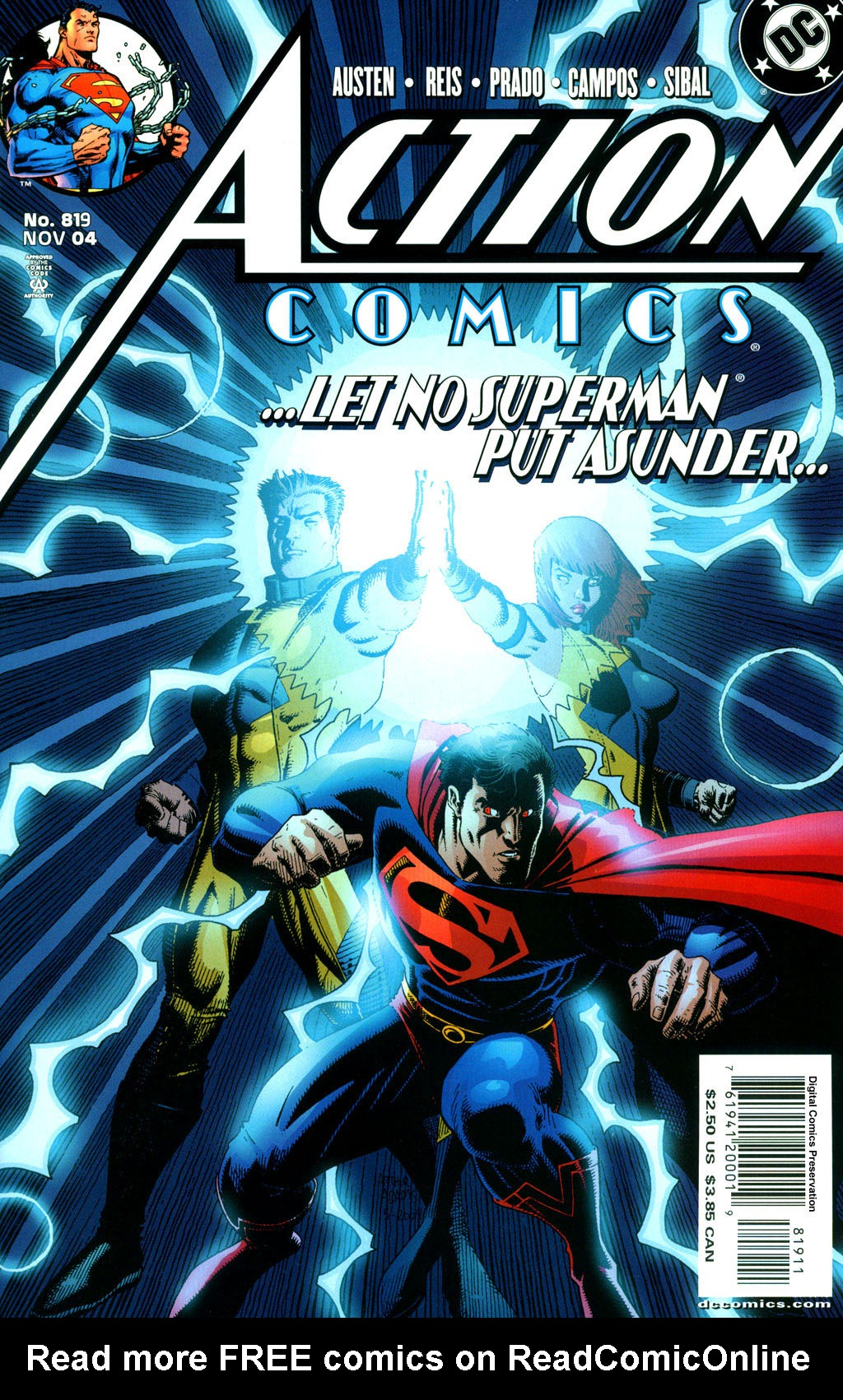 Action Comics (1938) 819 Page 1