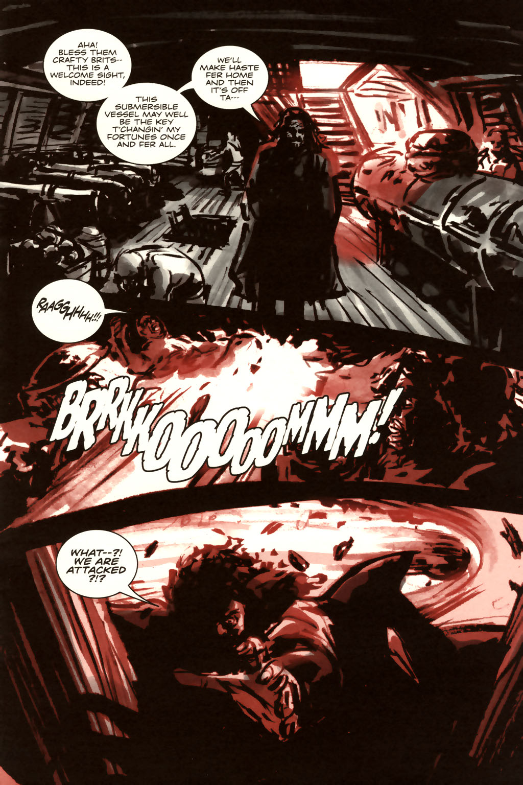 Read online Sea of Red comic -  Issue #9 - 18