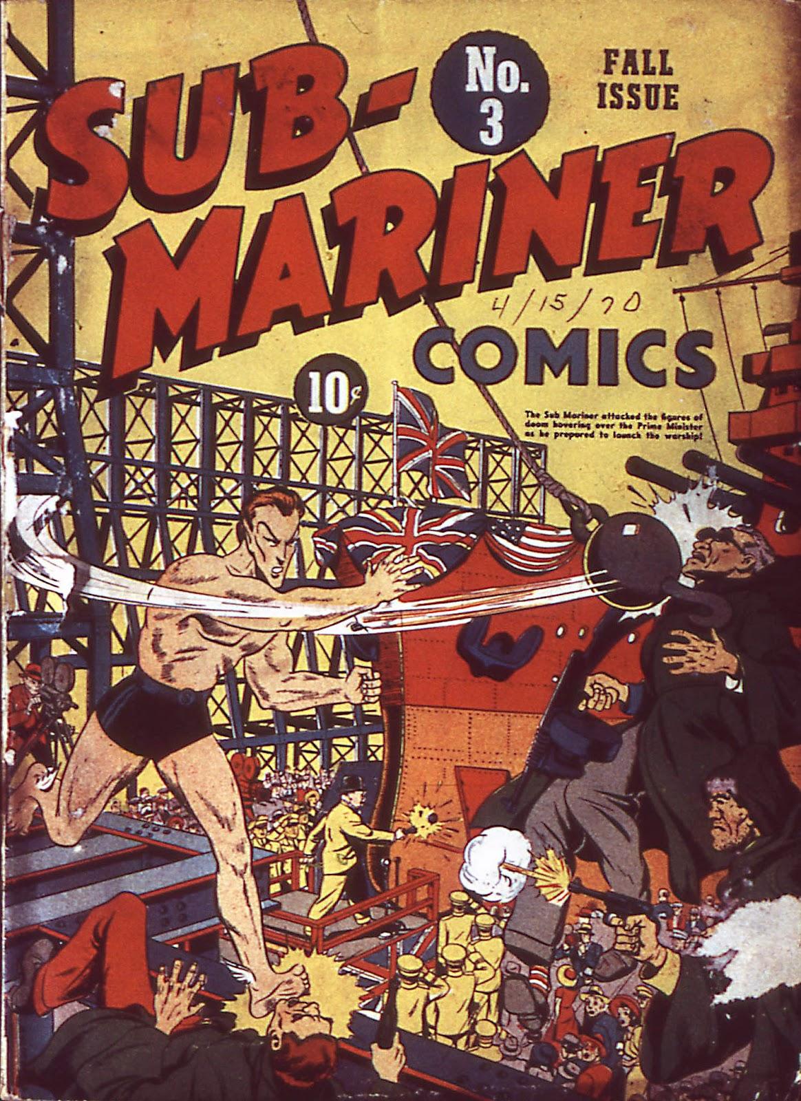 Sub-Mariner Comics Issue #3 #3 - English 2