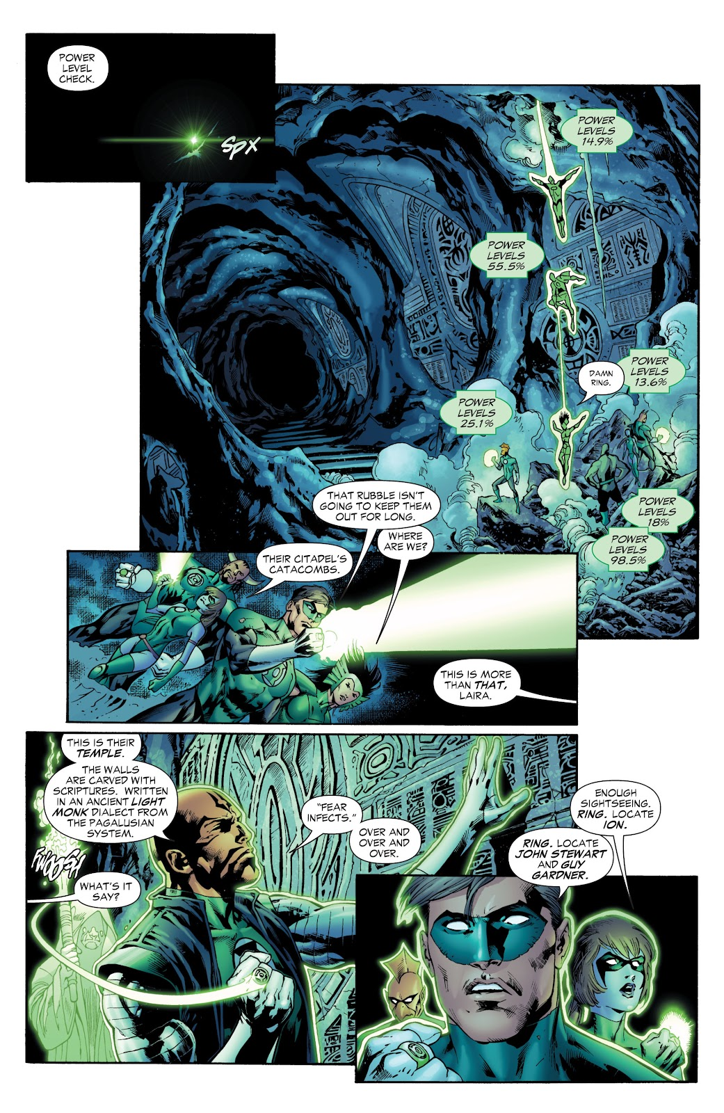 Green Lantern: The Sinestro Corps War Full #1 - English 108