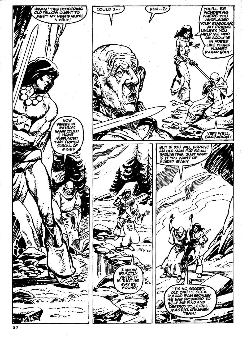 The Savage Sword Of Conan Issue #86 #87 - English 32