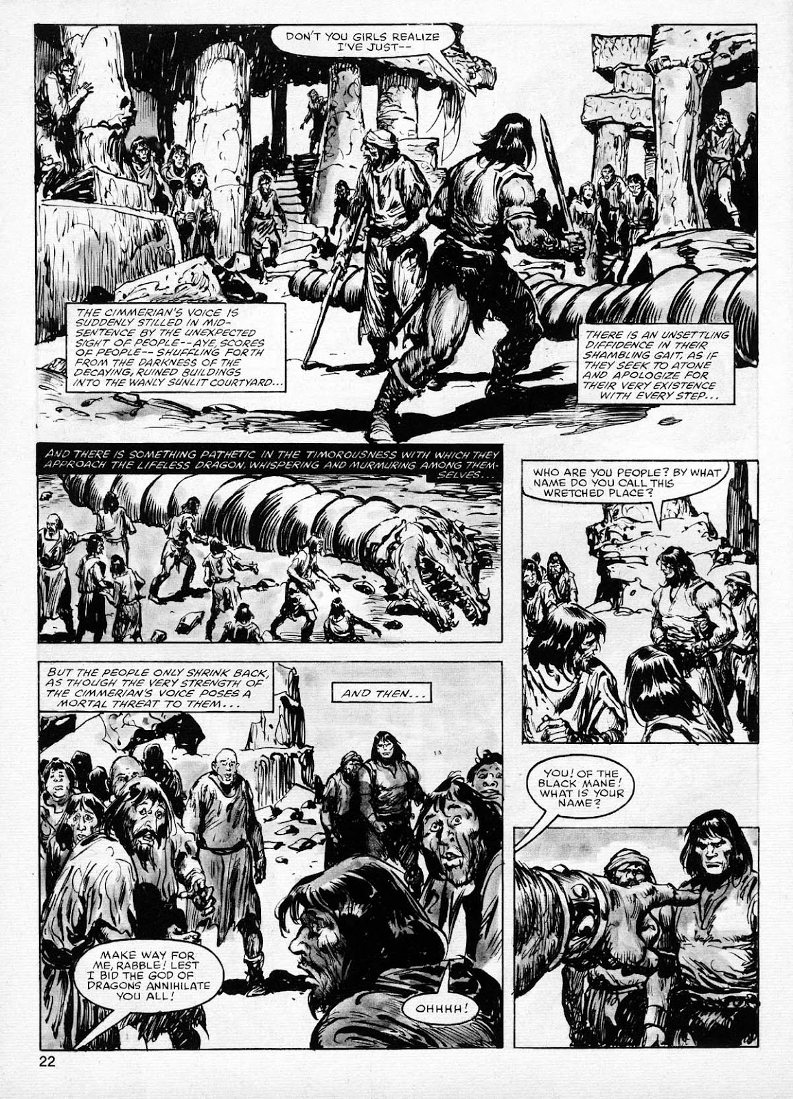 The Savage Sword Of Conan Issue #77 #78 - English 22