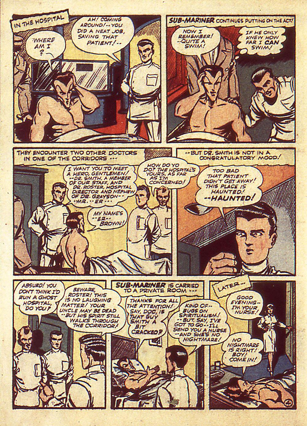 Sub-Mariner Comics Issue #4 #4 - English 7