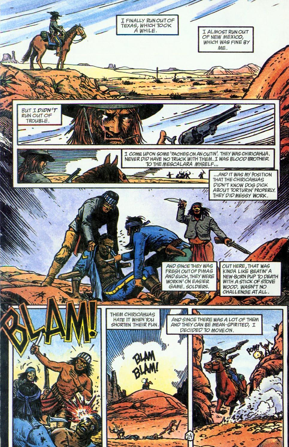 Jonah Hex: Two-Gun Mojo Issue #4 #4 - English 26