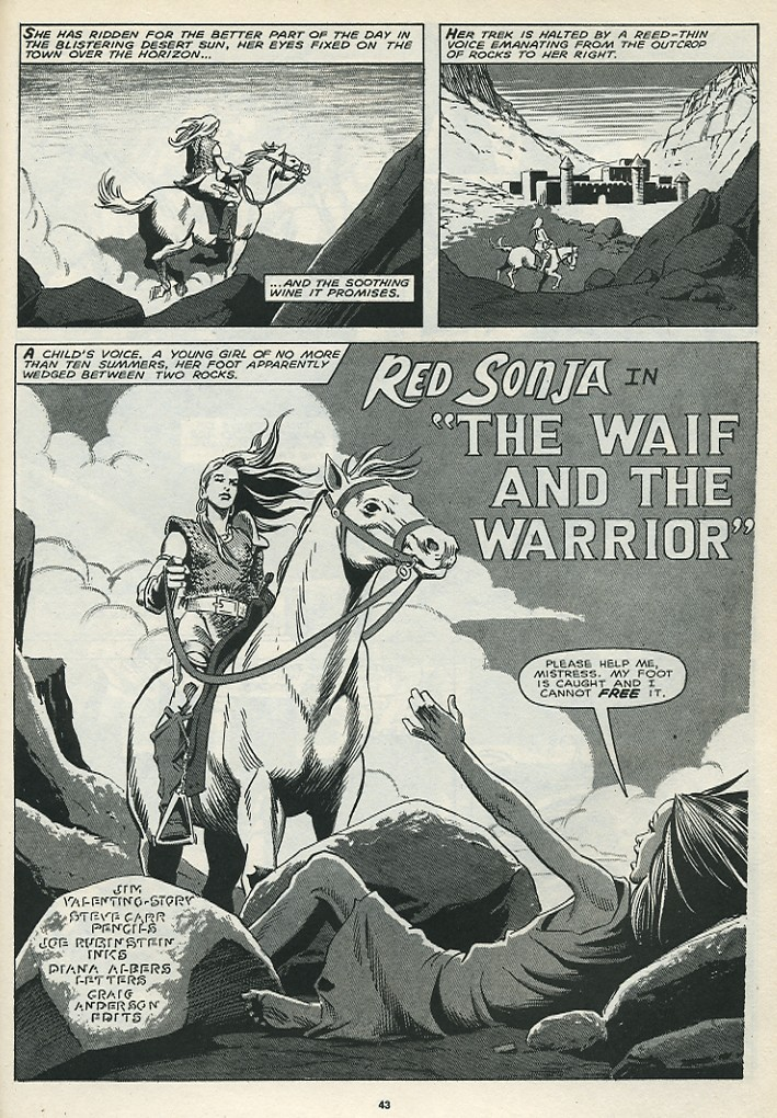 The Savage Sword Of Conan Issue #172 #173 - English 45
