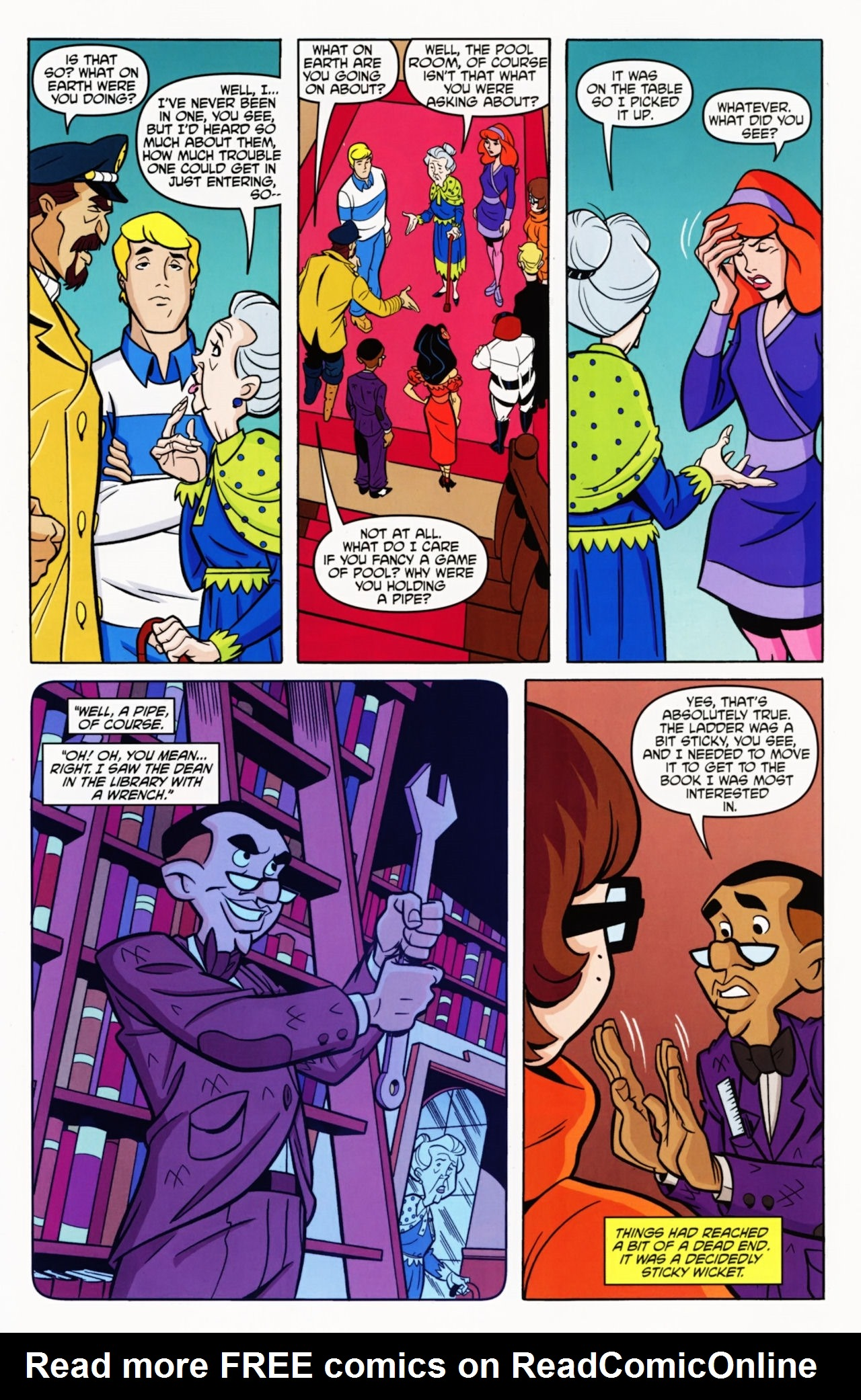 Read online Scooby-Doo: Where Are You? comic -  Issue #11 - 28