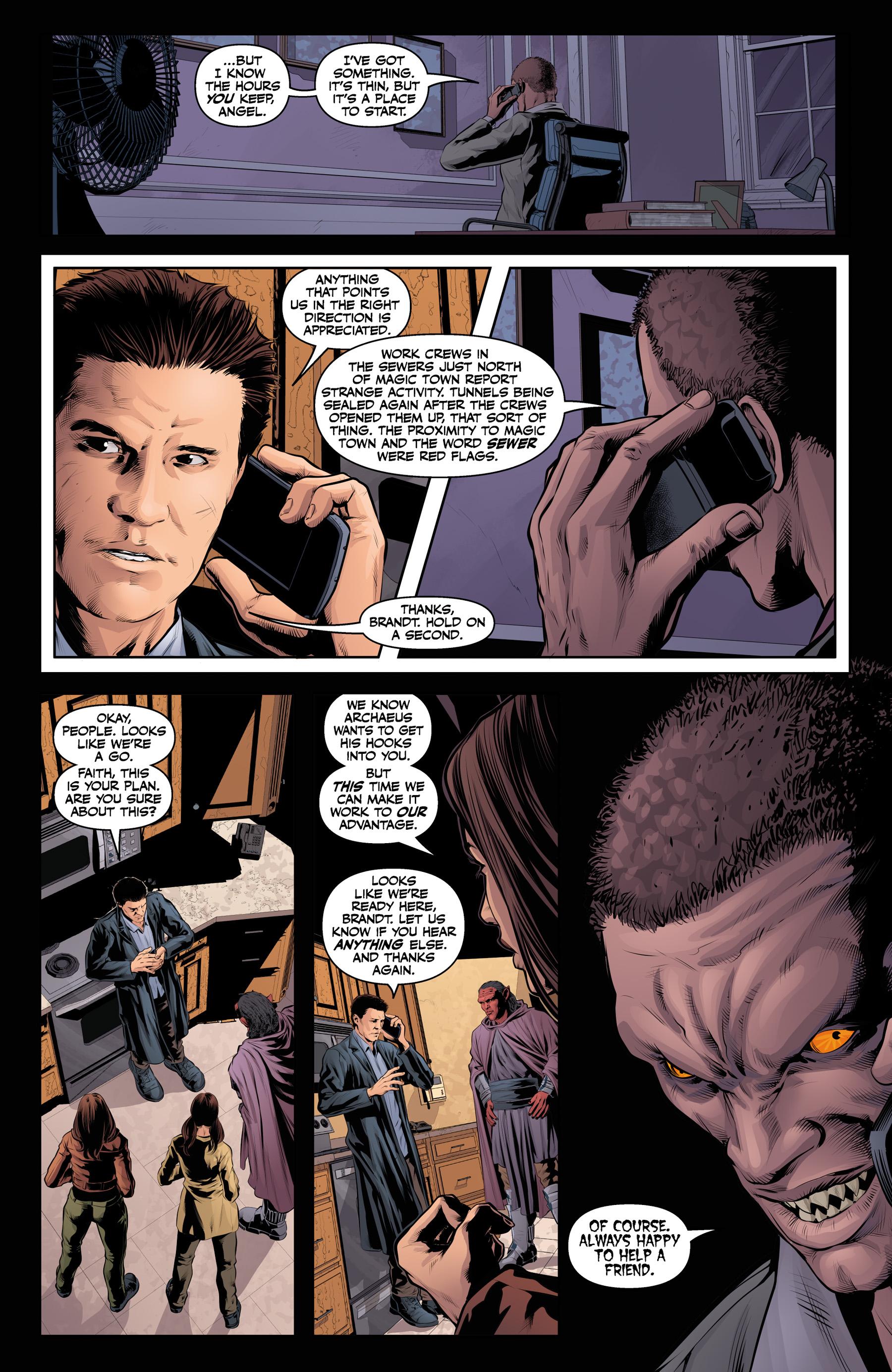 Read online Angel & Faith Season 10 comic -  Issue #21 - 17