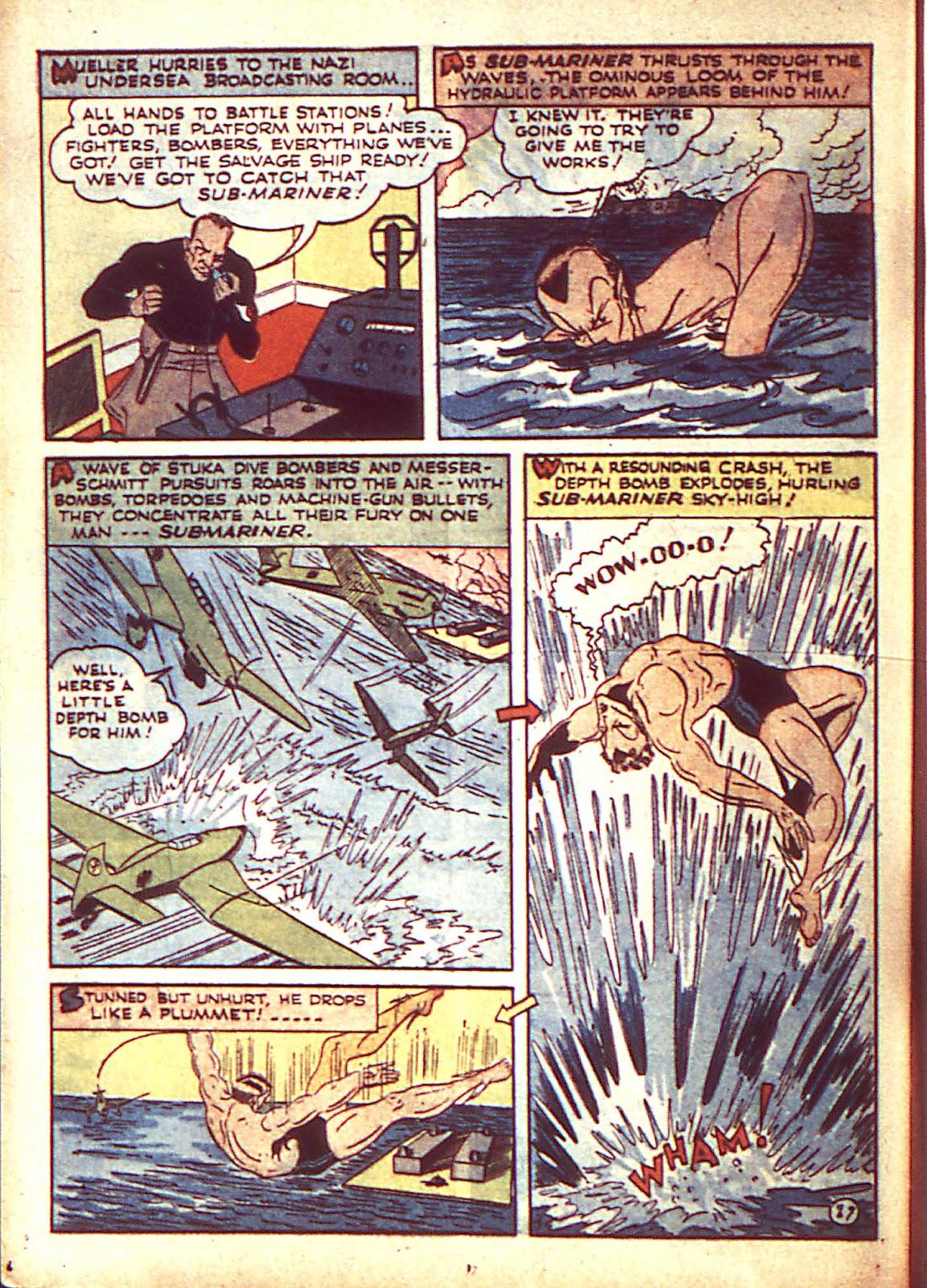 Sub-Mariner Comics Issue #3 #3 - English 31