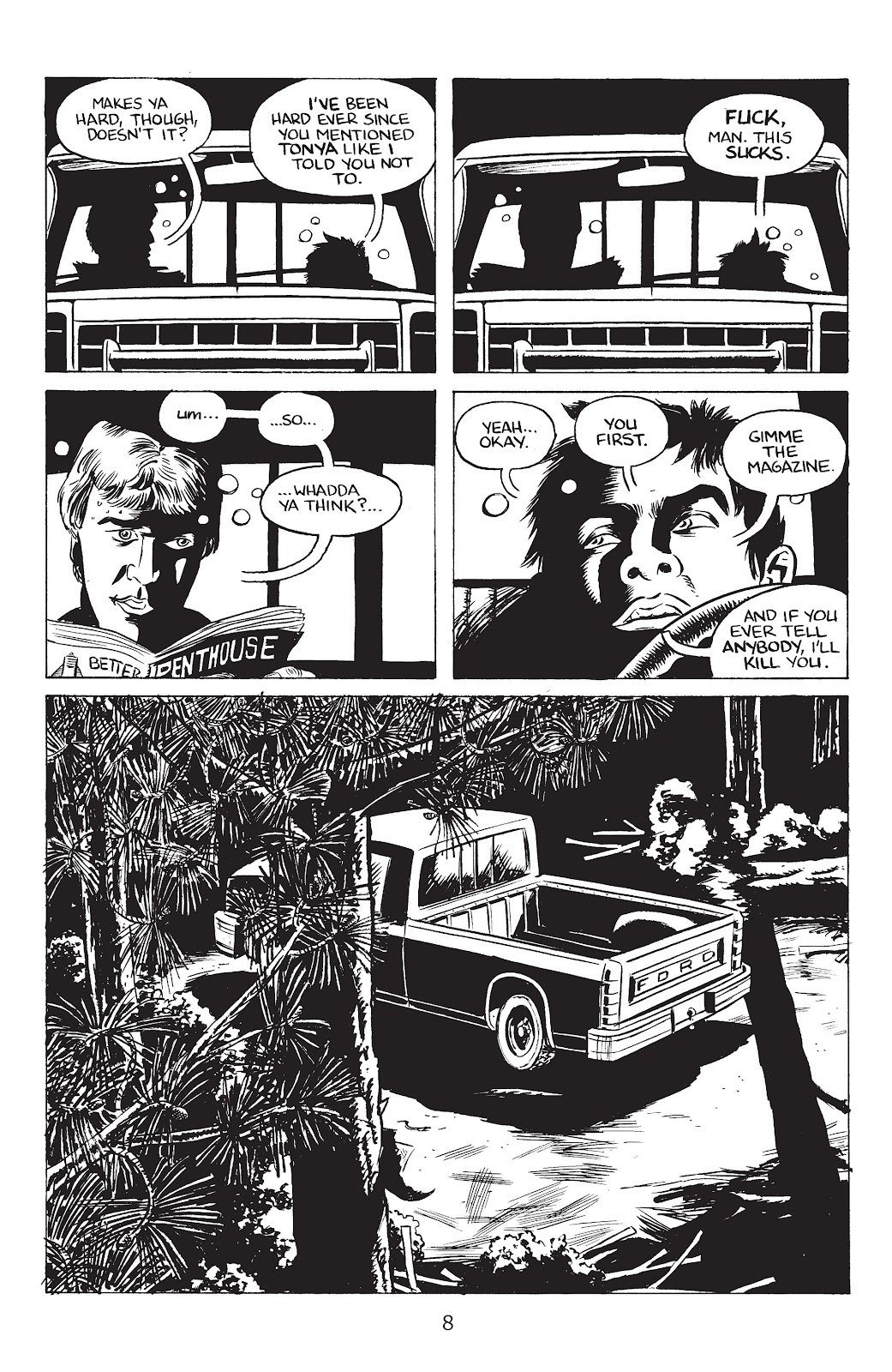 Stray Bullets Issue #34 #34 - English 10