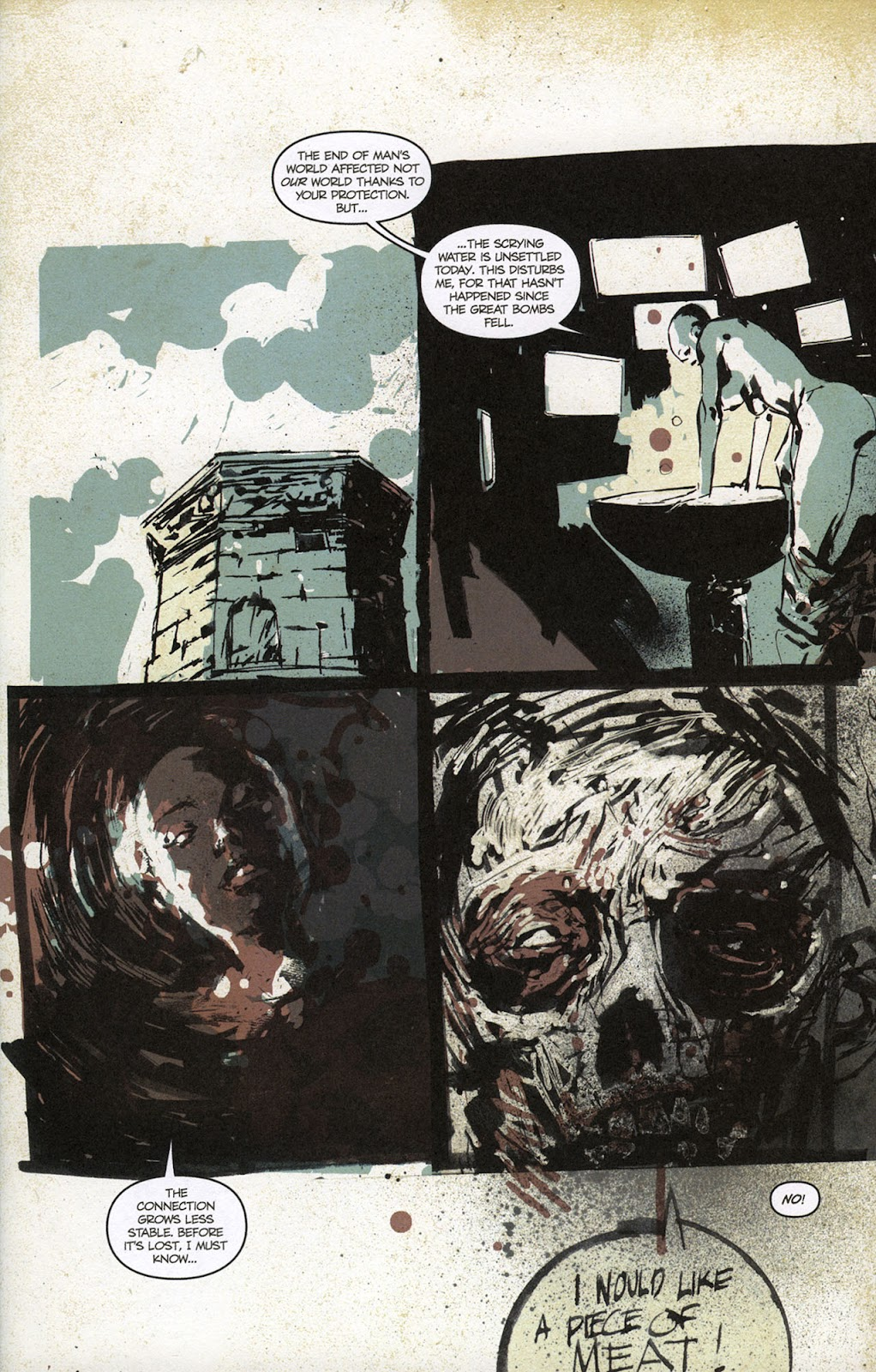 Zombies vs. Robots vs. Amazons Issue #1 Page 8