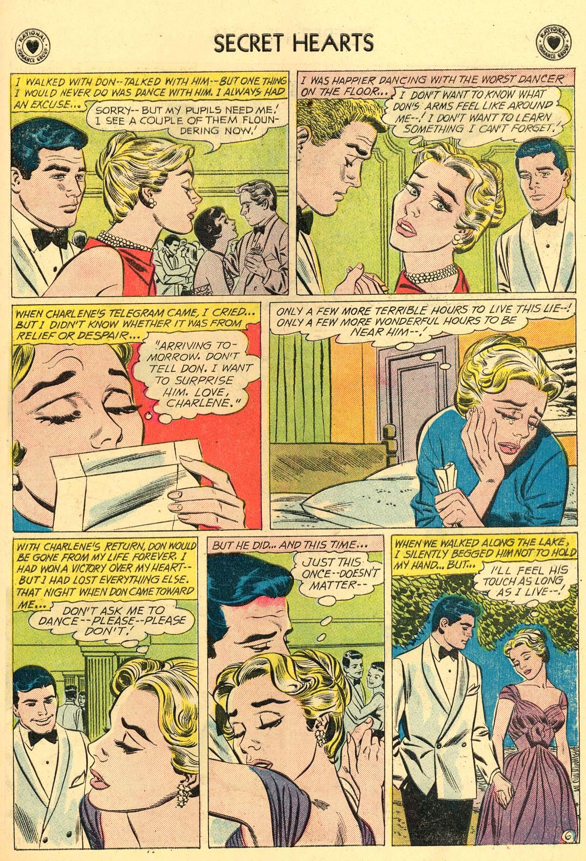 Read online Secret Hearts comic -  Issue #62 - 15