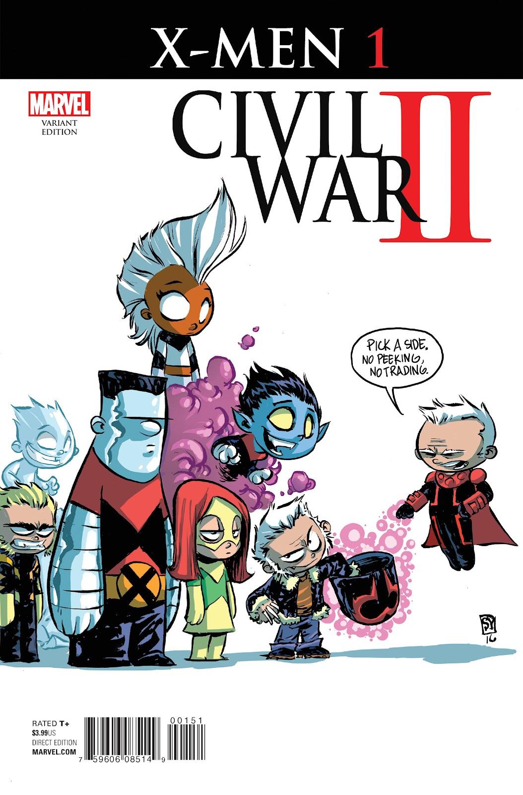 Civil War II: X-Men Issue #1 #1 - English 4