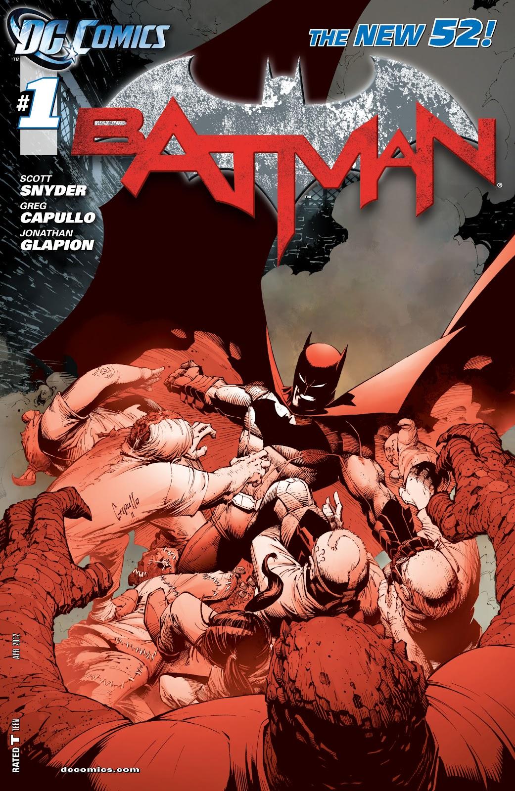 Batman (2011) Issue #1 #16 - English 27