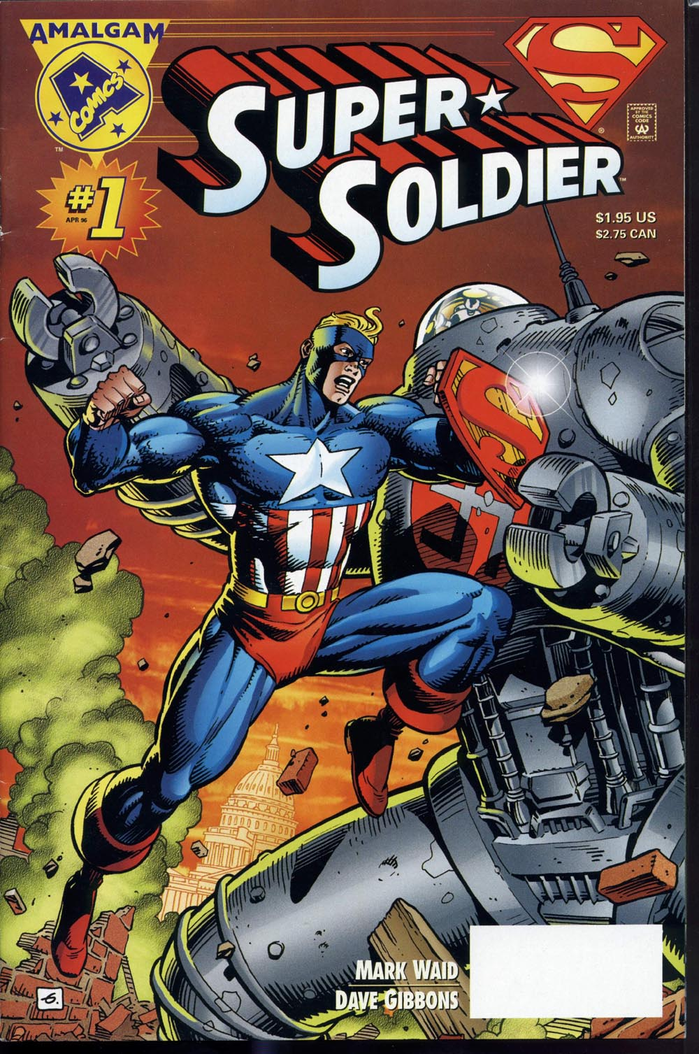 Read online Super Soldier comic -  Issue # Full - 1