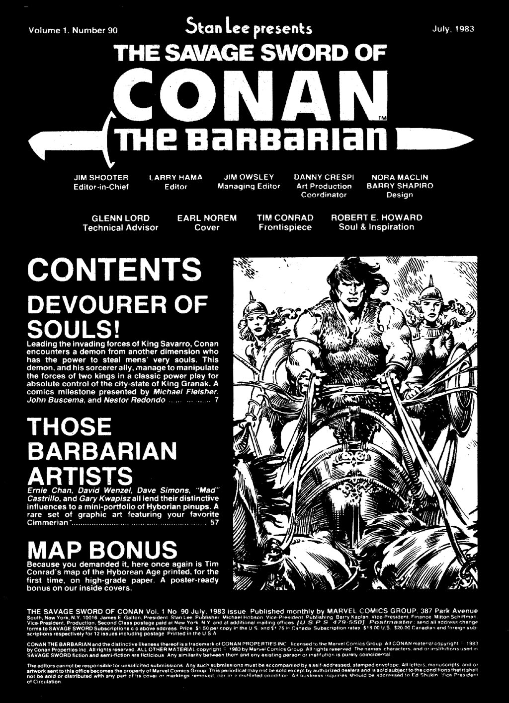 The Savage Sword Of Conan Issue #90 #91 - English 3