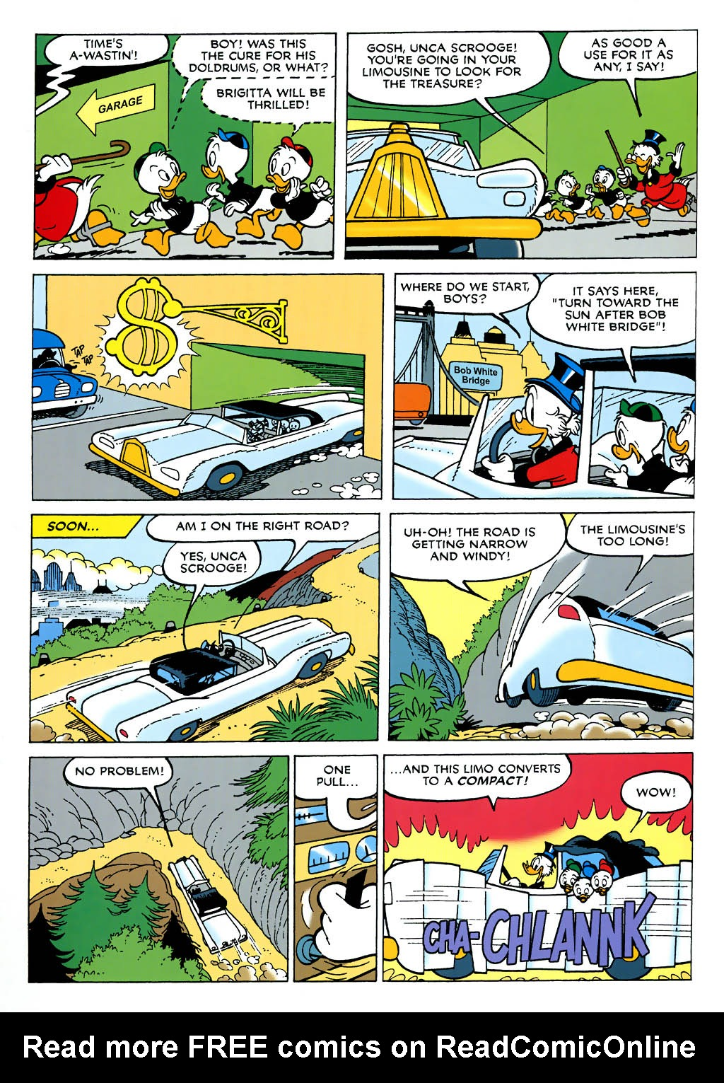 Uncle Scrooge (1953) Issue #322 #322 - English 47