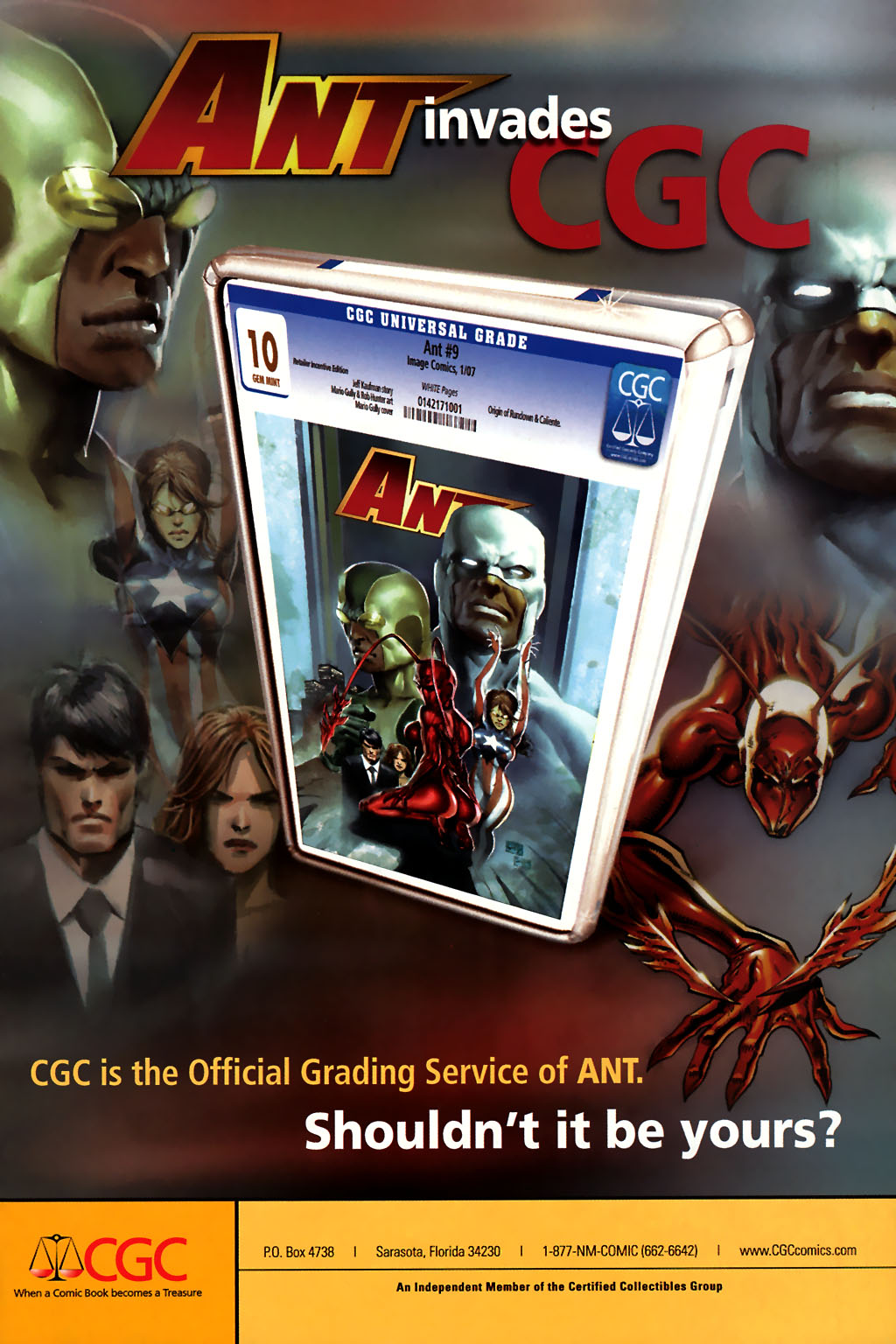 Read online Ant comic -  Issue #10 - 27