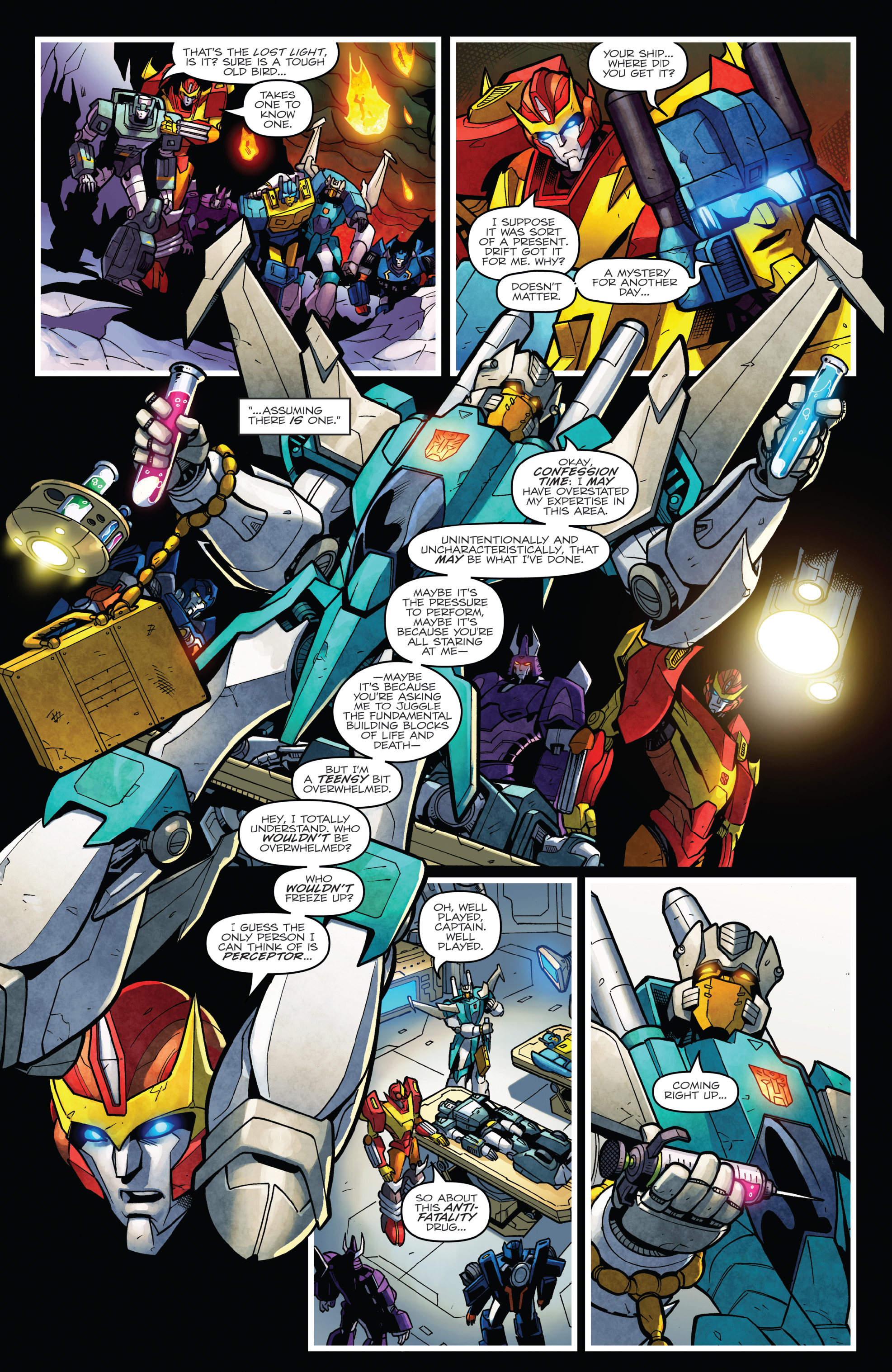 Read online The Transformers: Dark Cybertron Finale comic -  Issue # Full - 137