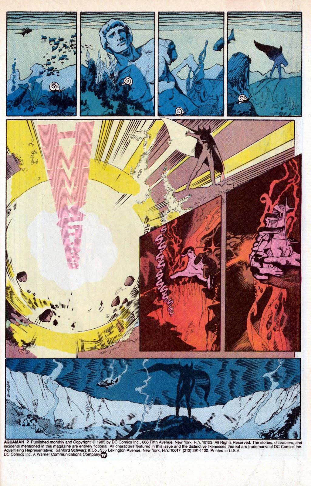 Aquaman (1986) Issue #2 #2 - English 3