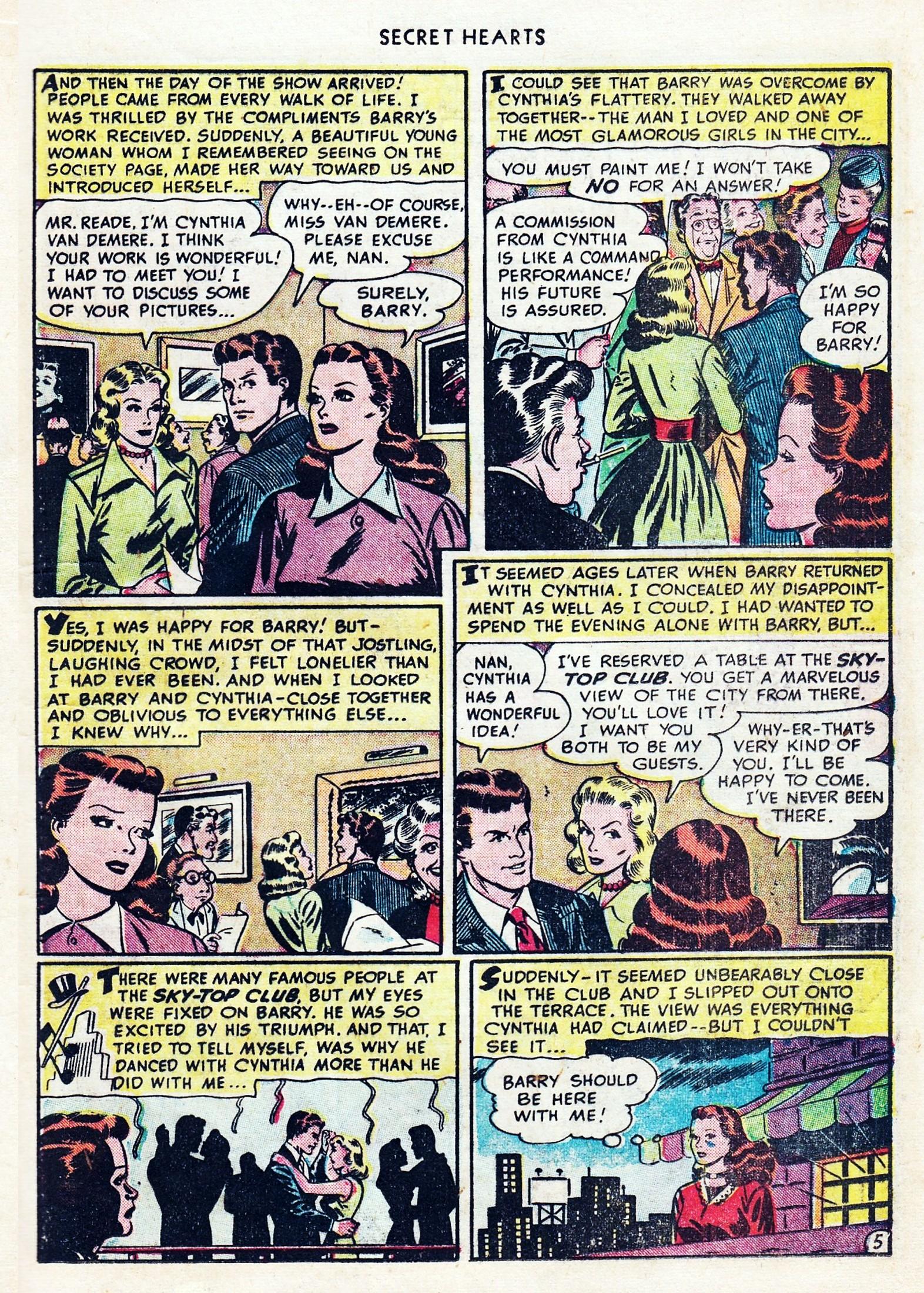 Read online Secret Hearts comic -  Issue #1 - 17