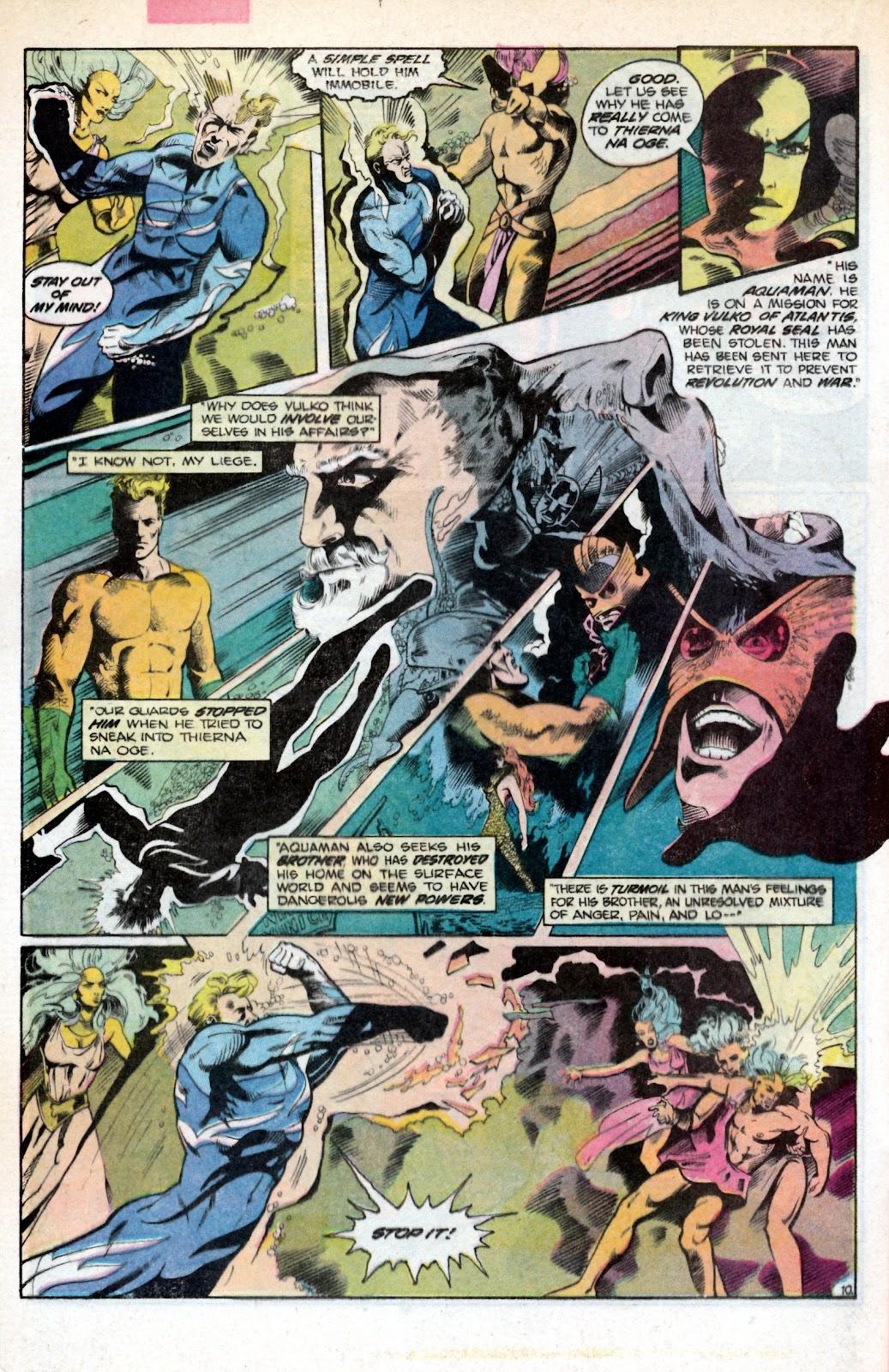 Aquaman (1986) Issue #2 #2 - English 16