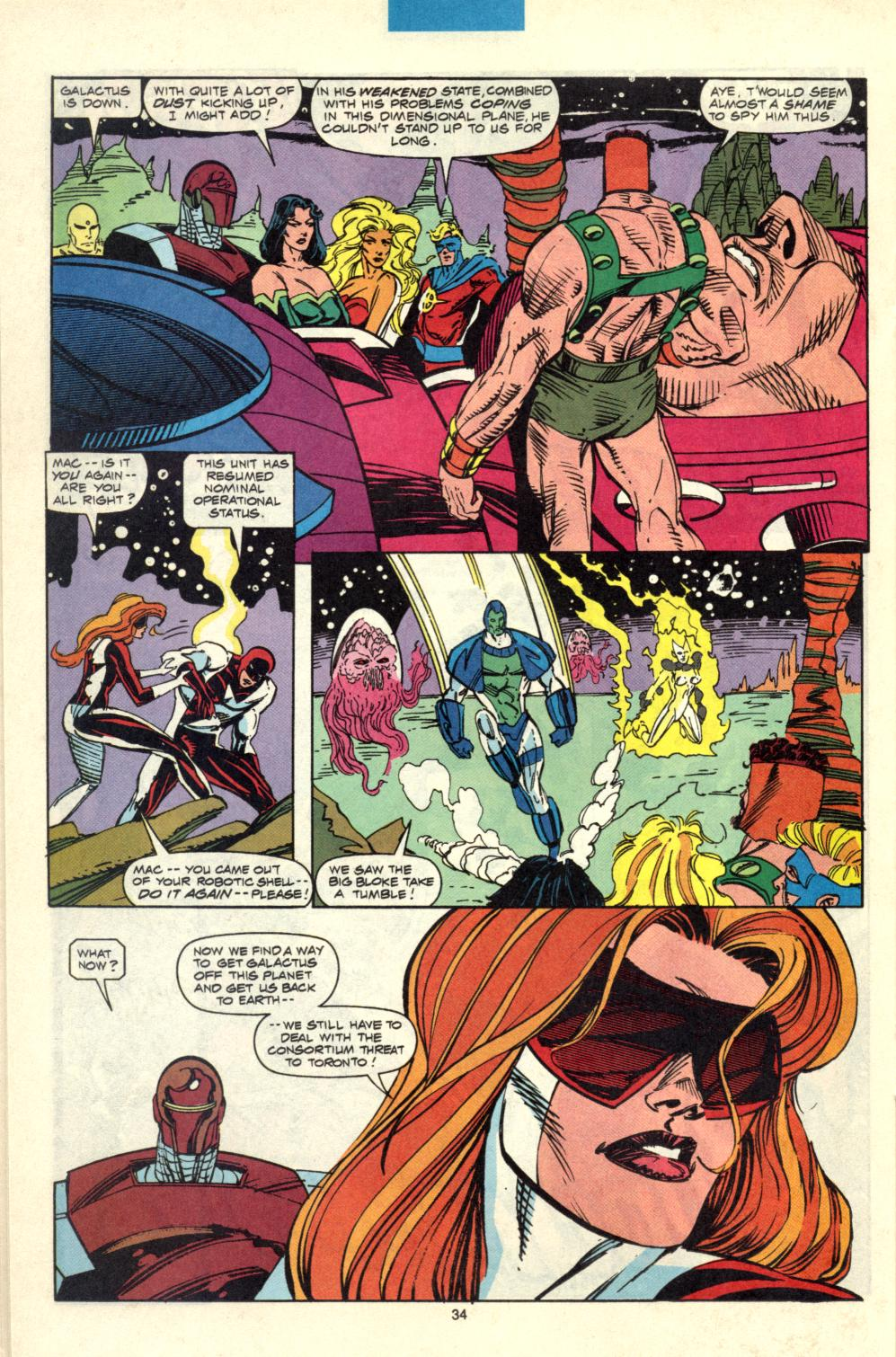 Alpha Flight (1983) 100 Page 28