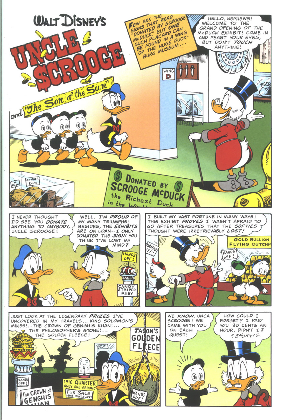 Uncle Scrooge (1953) Issue #335 #335 - English 3
