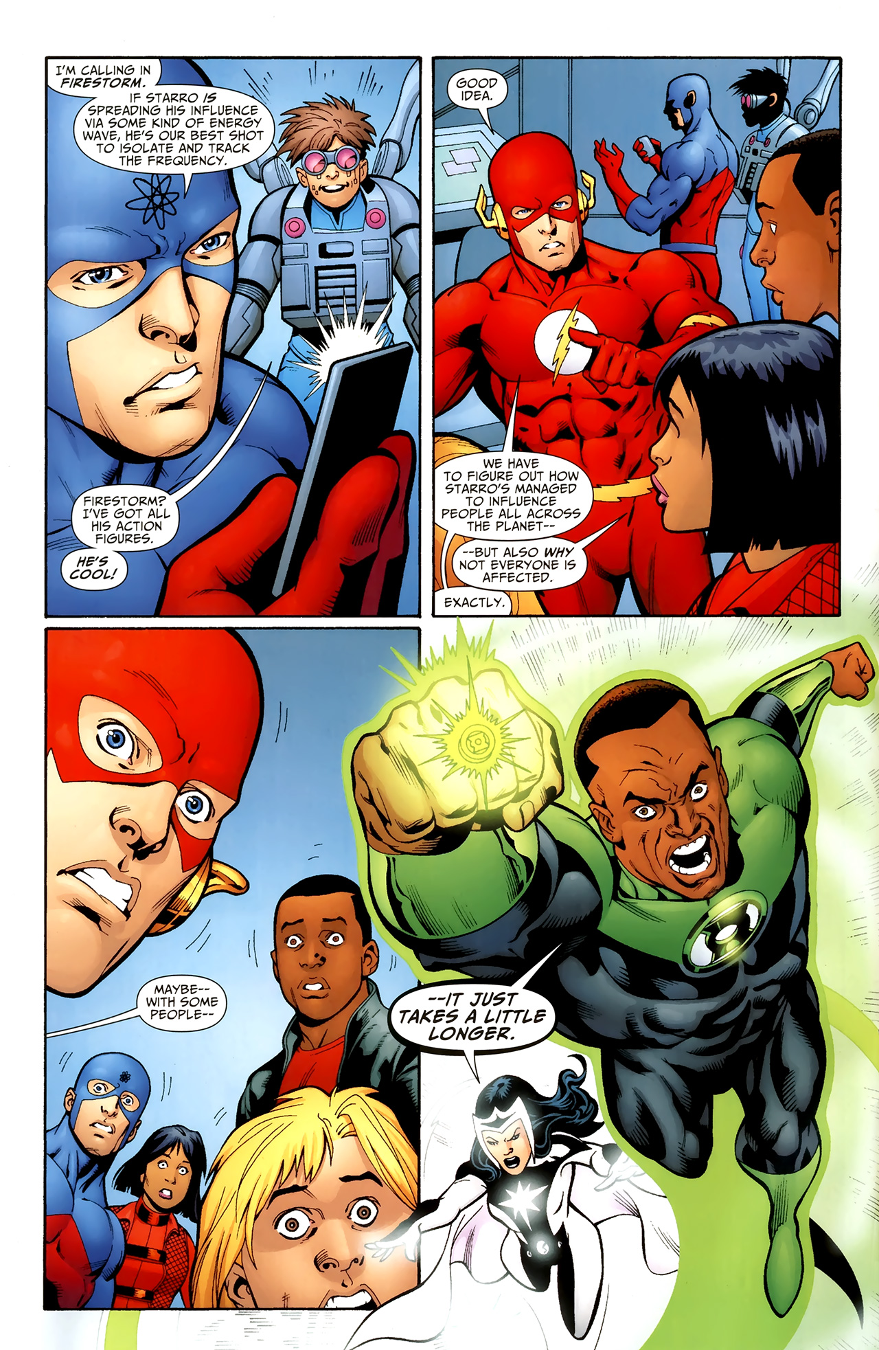 Read online Justice League of America/The 99 comic -  Issue #3 - 5