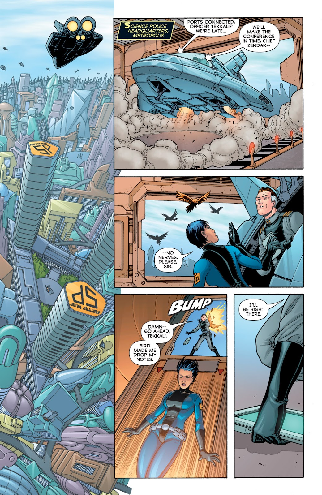 Legion of Super-Heroes (2010) Issue #5 #6 - English 19