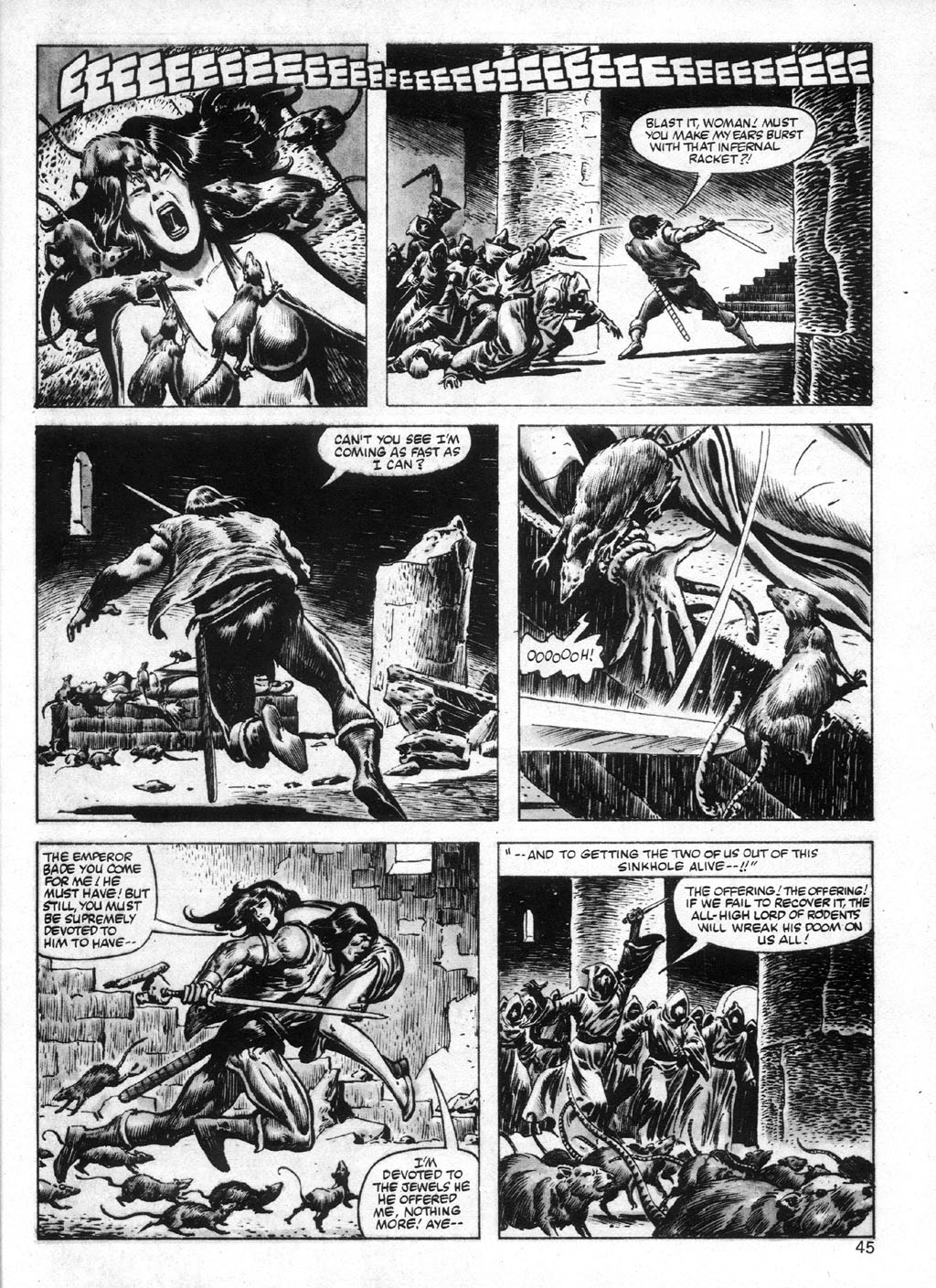 The Savage Sword Of Conan Issue #95 #96 - English 45