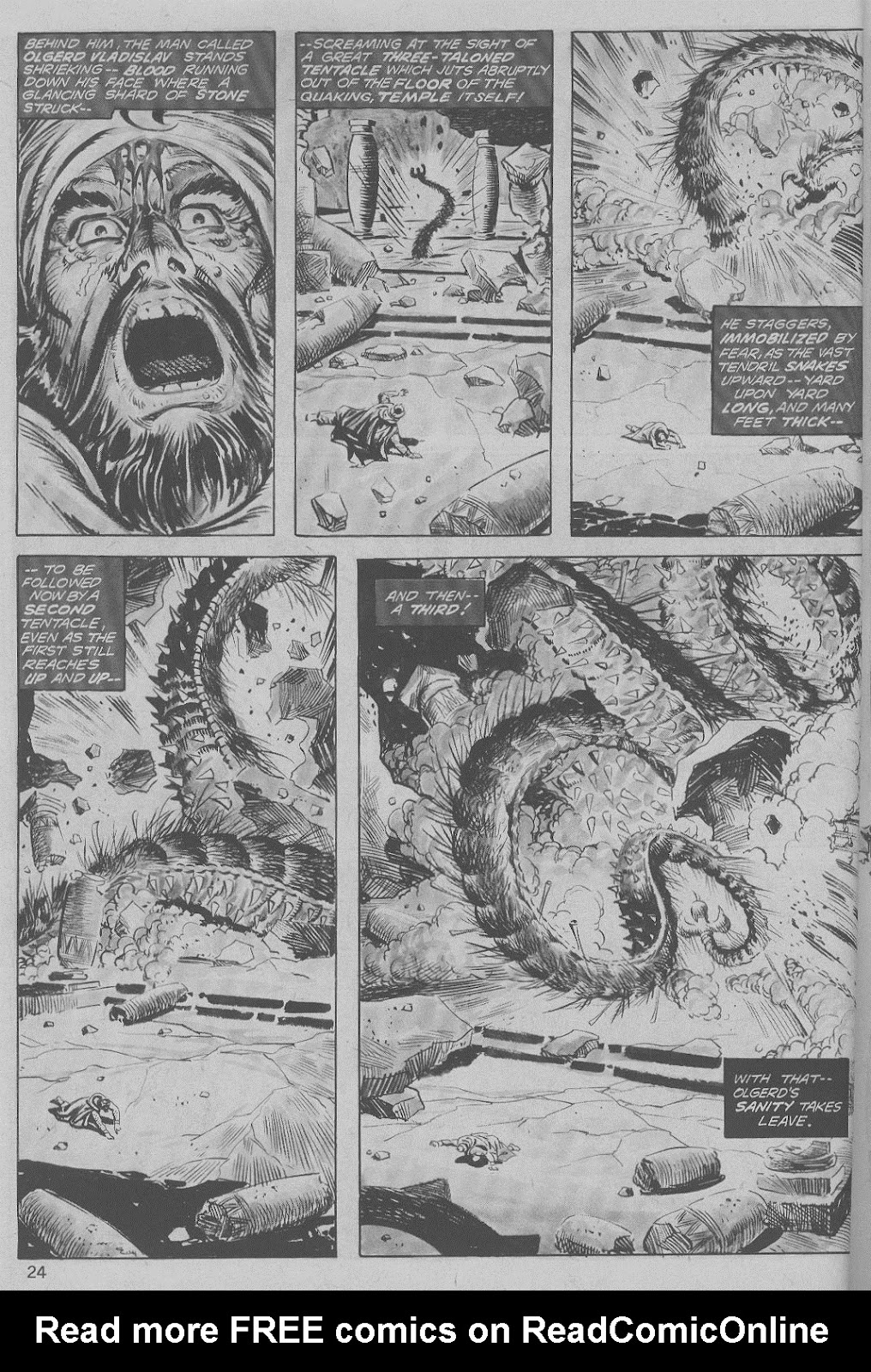 The Savage Sword Of Conan Issue #6 #7 - English 24