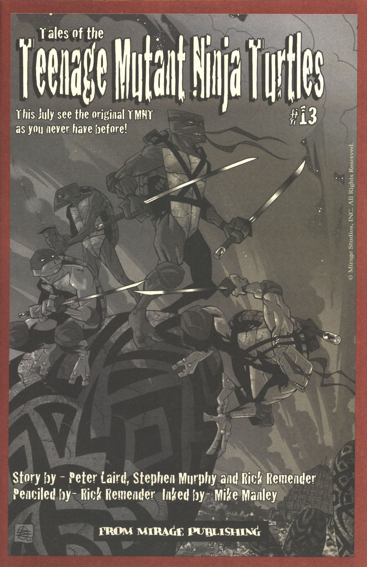 Read online Sea of Red comic -  Issue #2 - 31