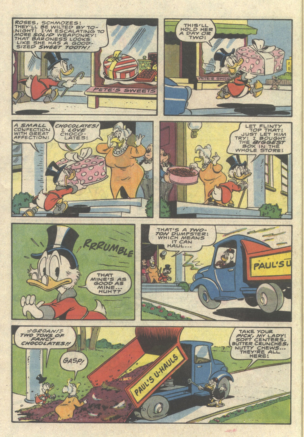 Uncle Scrooge (1953) Issue #225 #225 - English 8