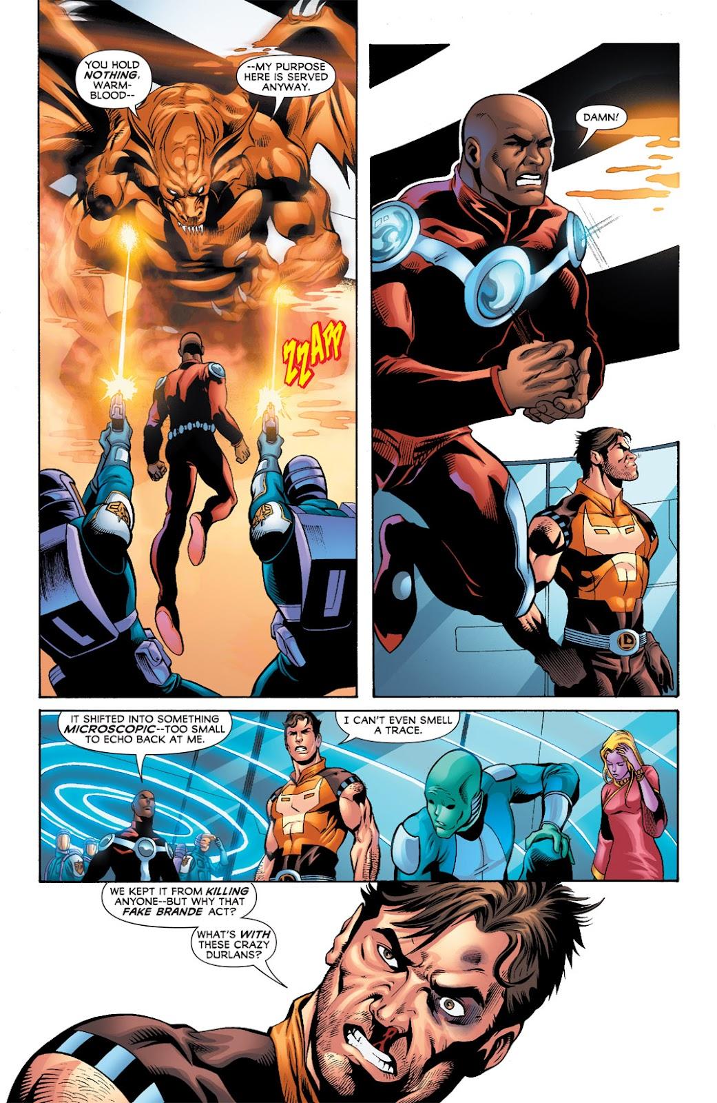 Legion of Super-Heroes (2010) Issue #9 #10 - English 20