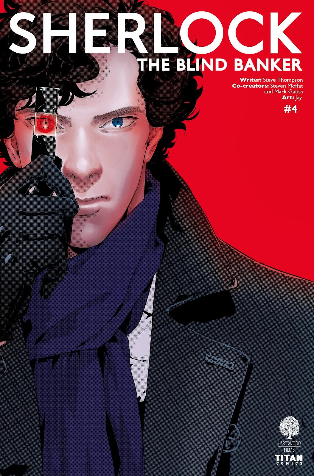 Sherlock: The Blind Banker Issue #4 #4 - English 1