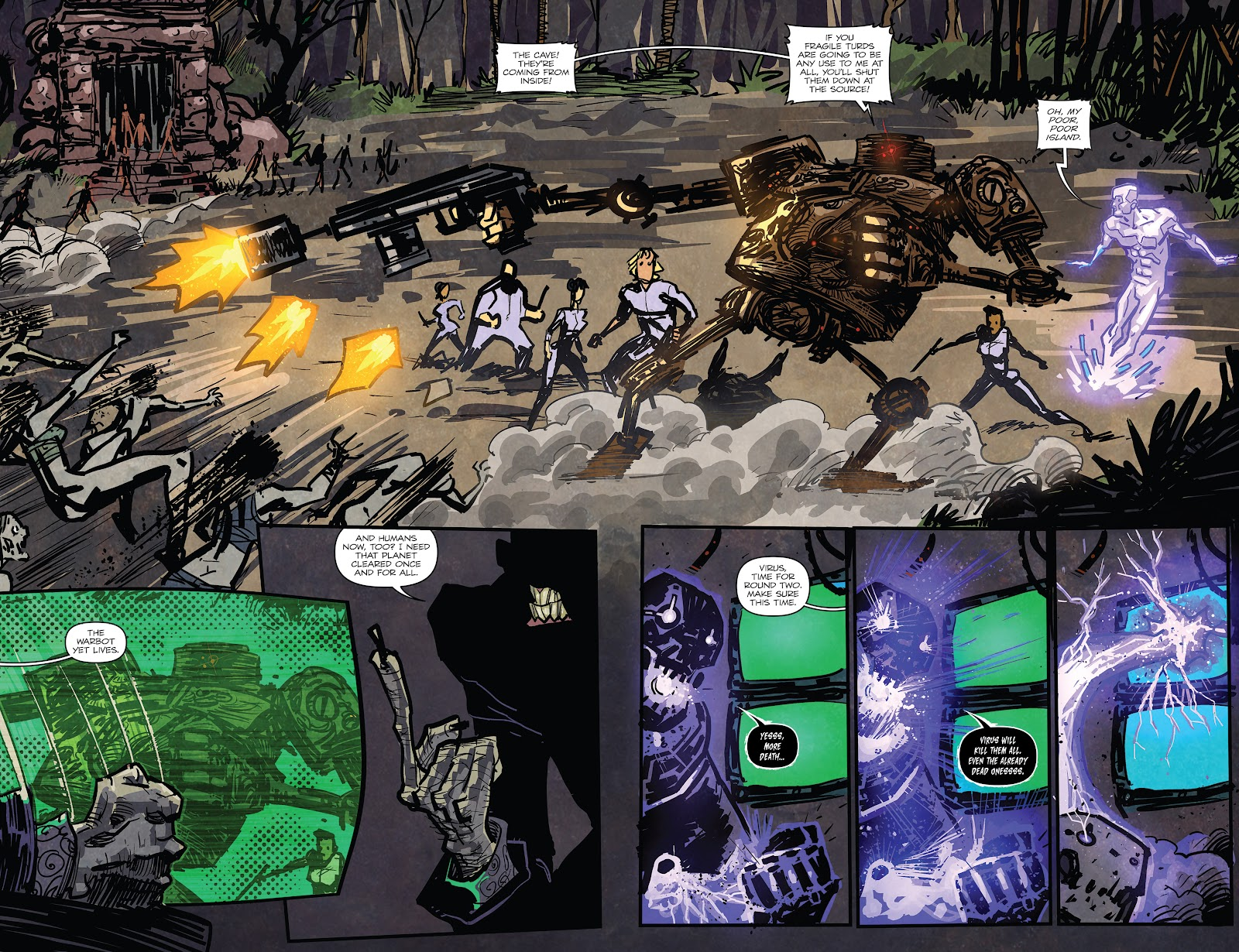 Zombies vs Robots (2015) Issue #6 Page 5