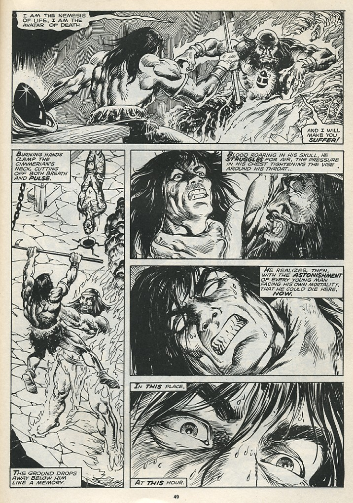 The Savage Sword Of Conan Issue #174 #175 - English 51
