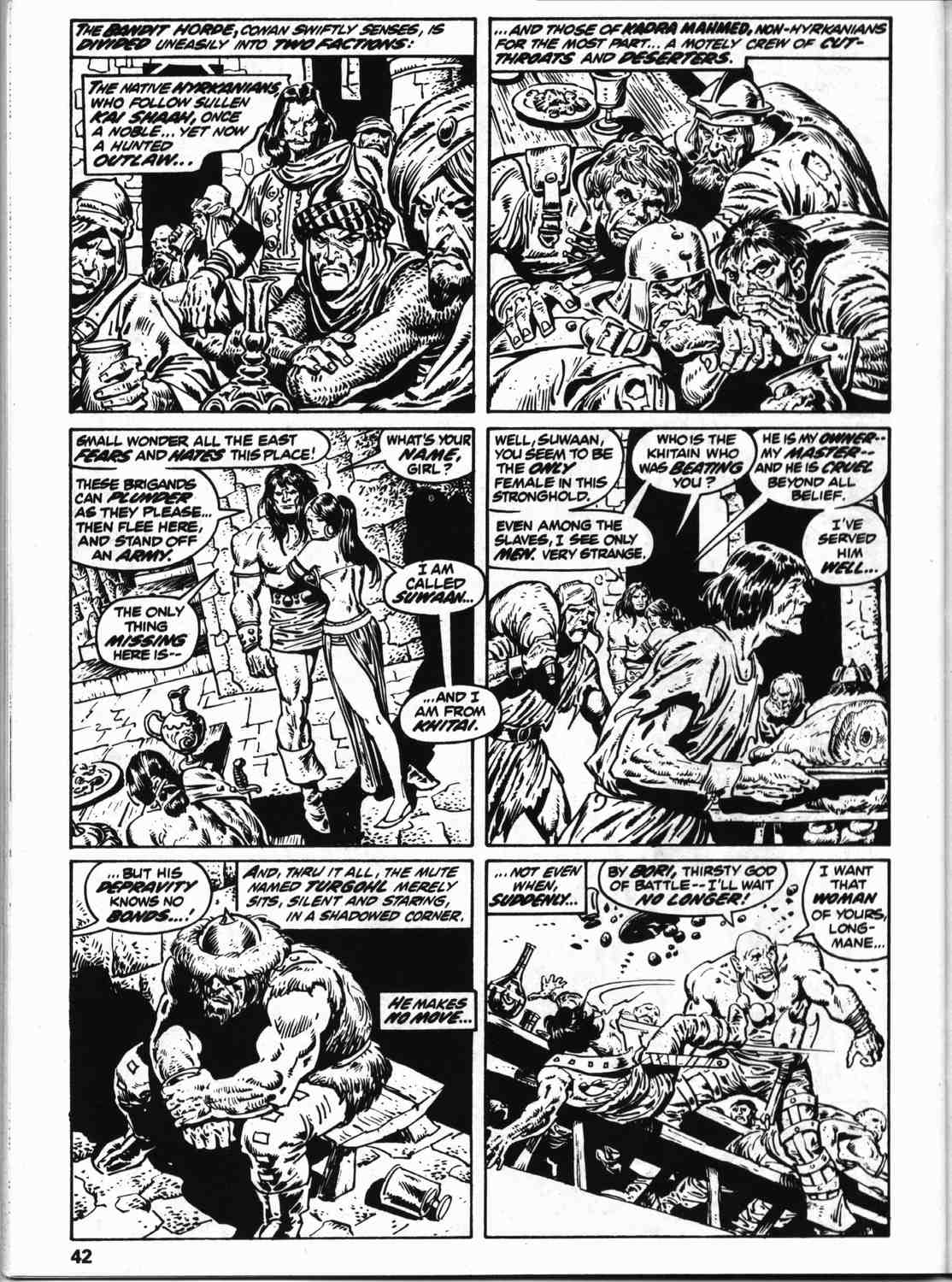 The Savage Sword Of Conan Issue #59 #60 - English 49