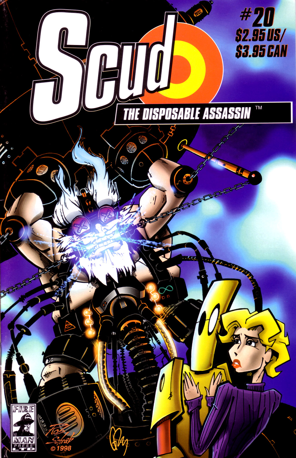 Read online Scud: The Disposable Assassin (1994) comic -  Issue #20 - 1