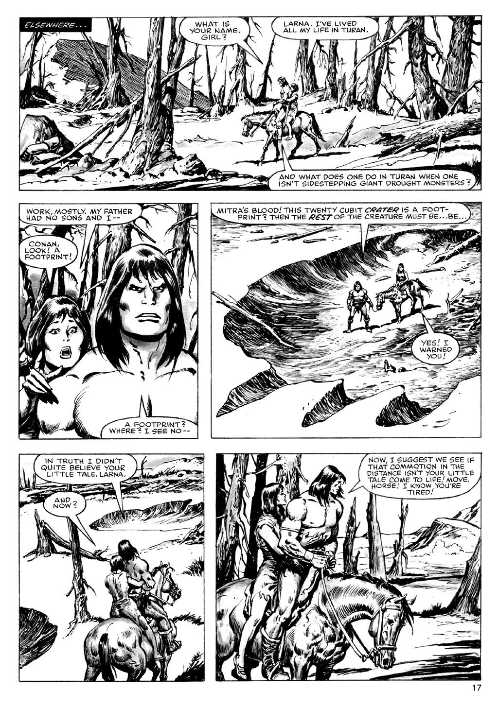 The Savage Sword Of Conan Issue #72 #73 - English 17