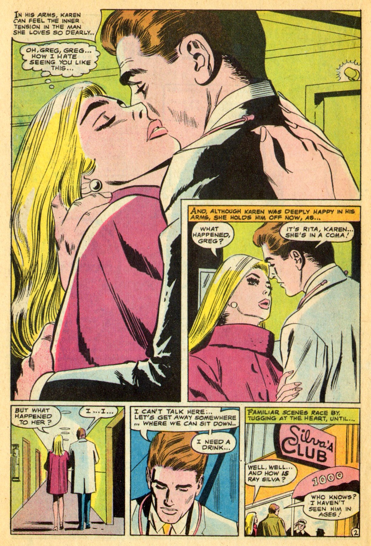 Read online Secret Hearts comic -  Issue #134 - 22