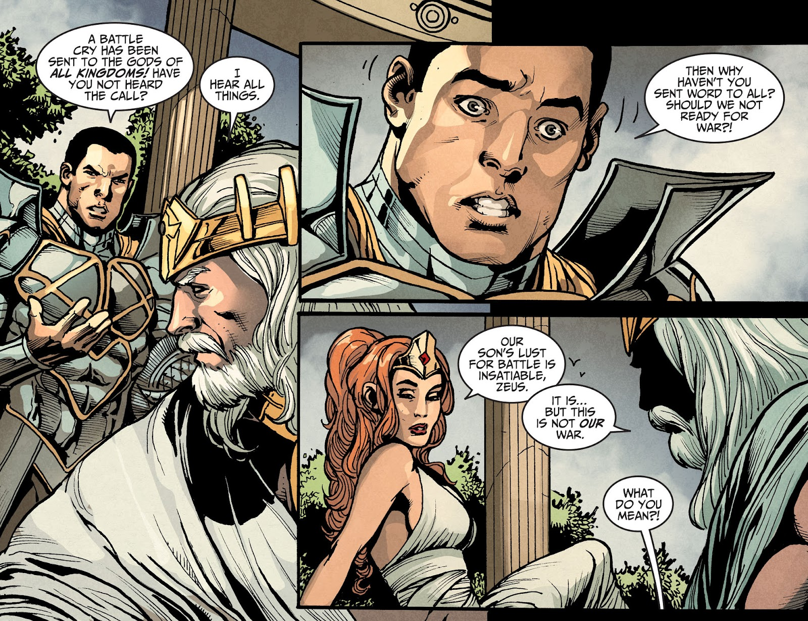 Injustice: Gods Among Us Year Four Issue #16 #17 - English 9