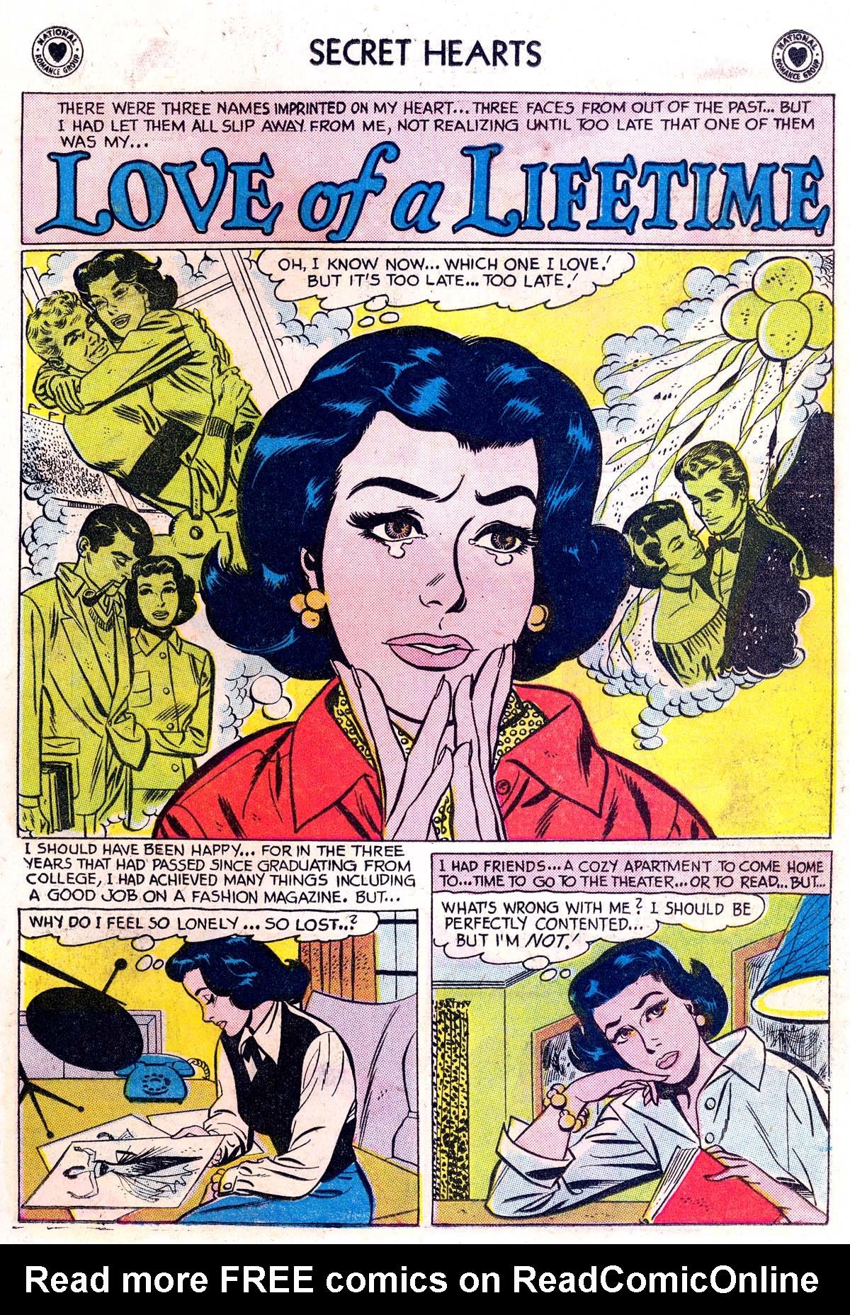 Read online Secret Hearts comic -  Issue #42 - 19