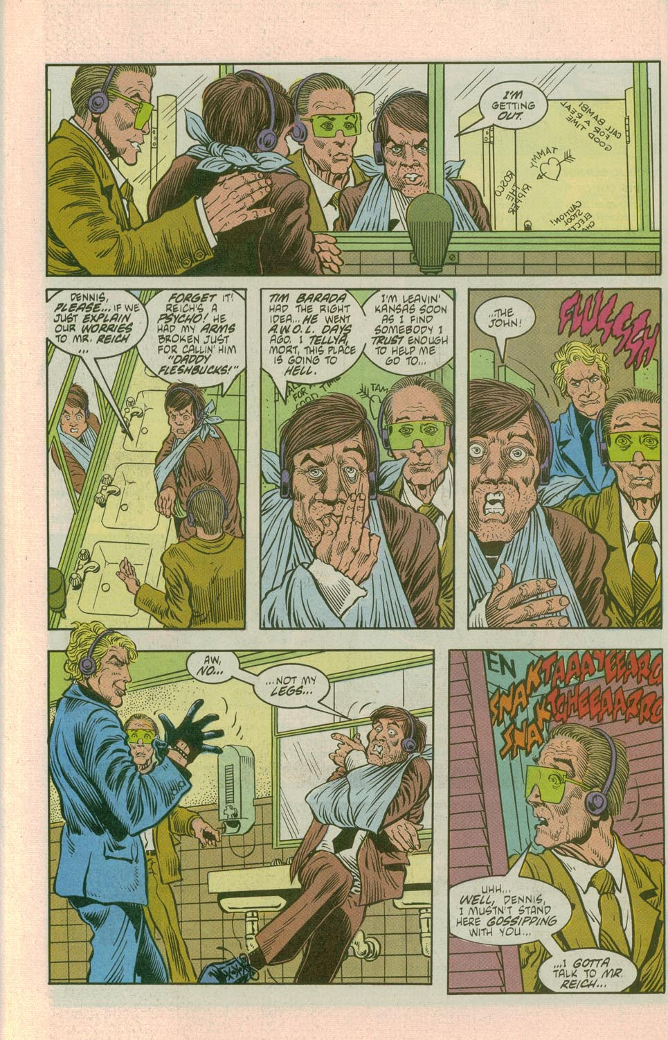 27 Page 8 American Flagg 9